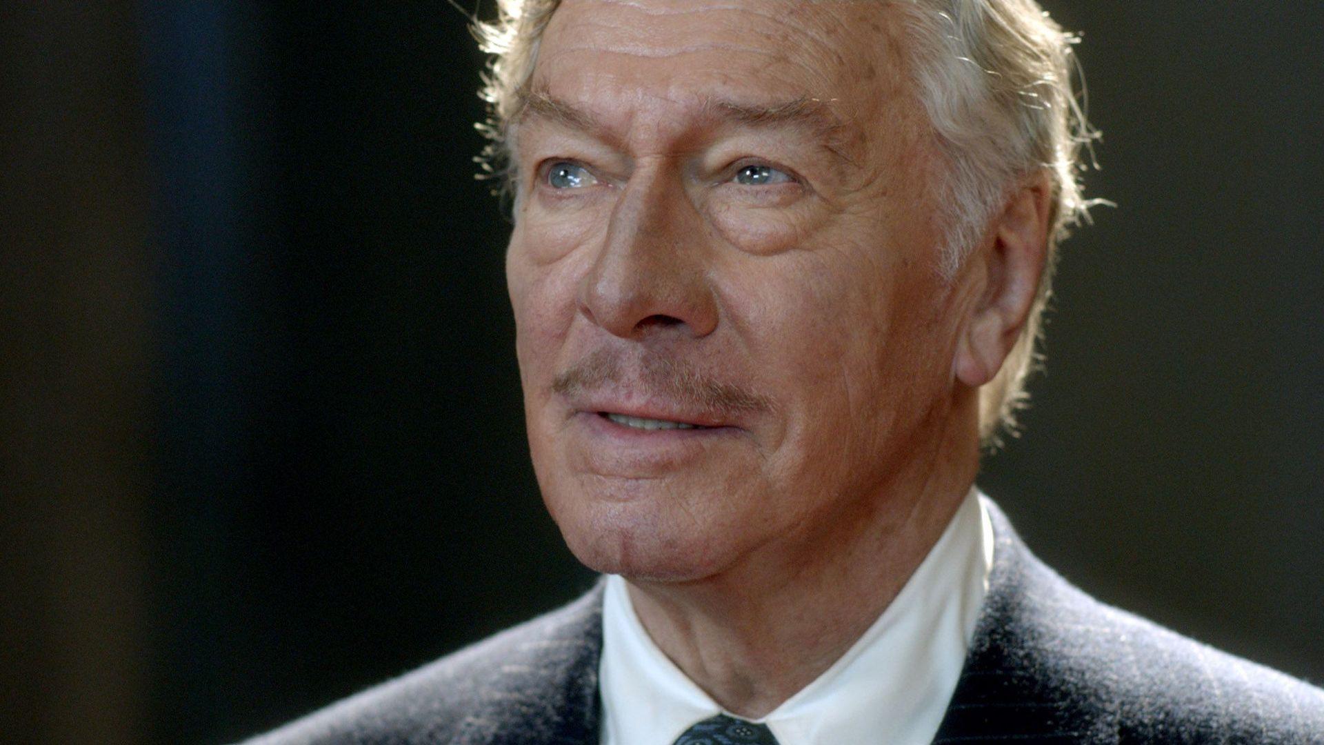 BARRYMORE, Christopher Plummer, as John Barrymore, 2011.