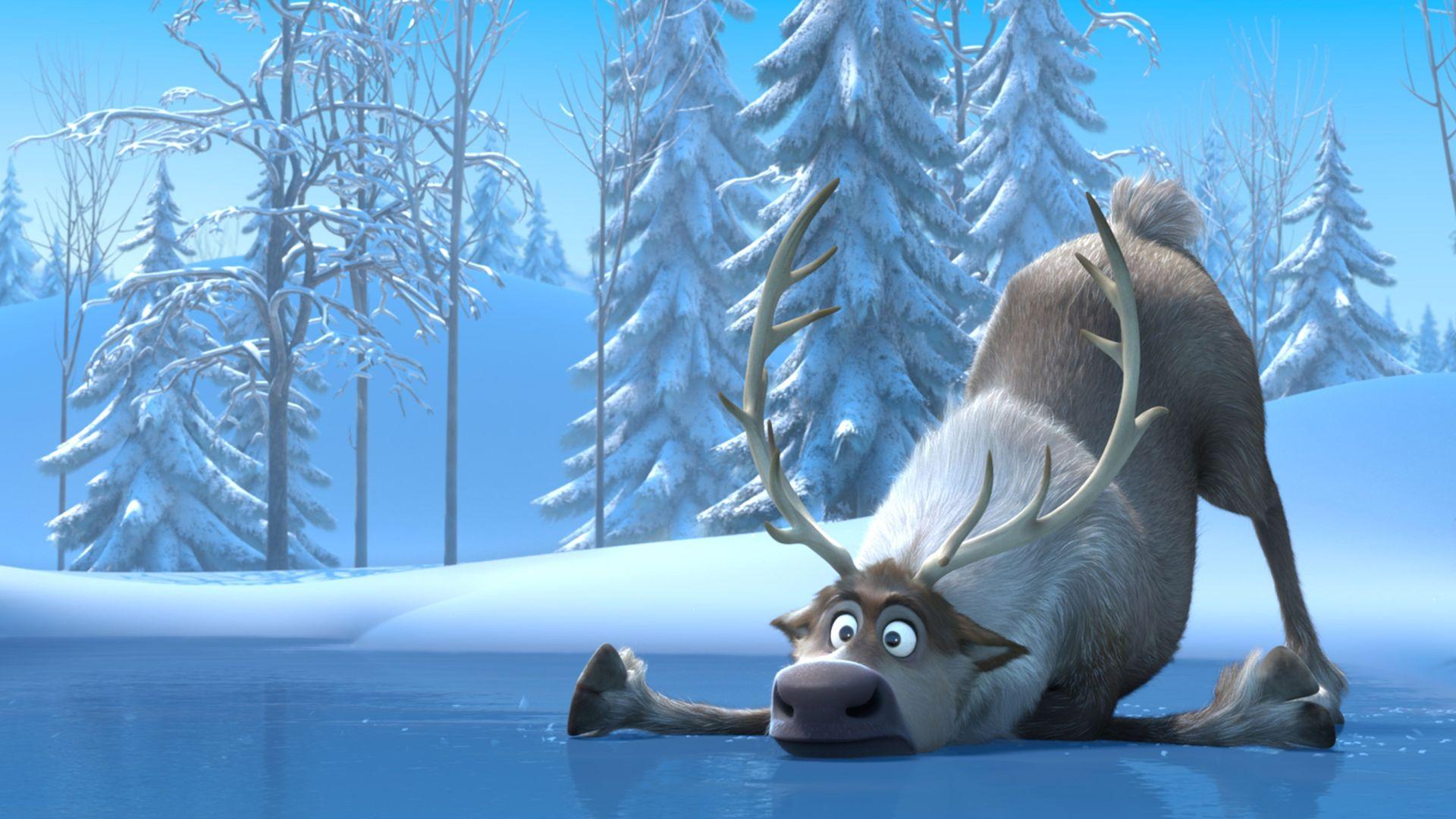 "Sven from ""Frozen."""