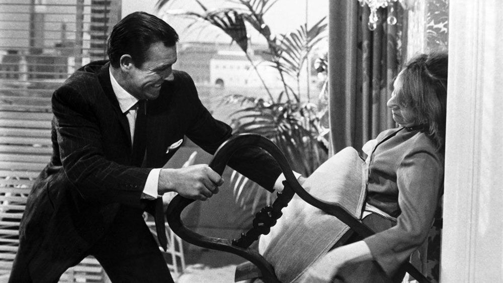 FROM RUSSIA WITH LOVE, Sean Connery, Lotte Lenya, 1963.