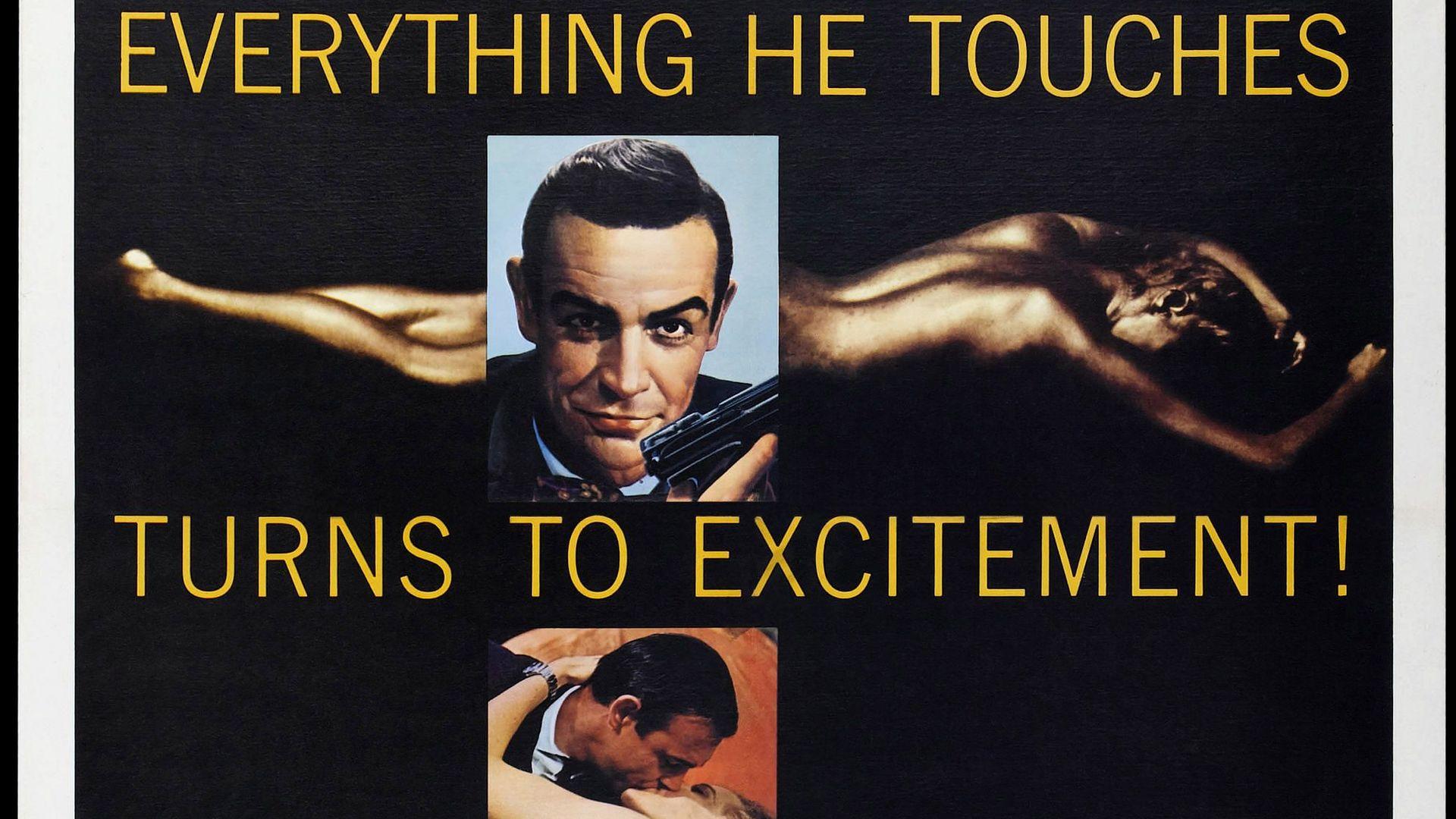 Bond Posters: Goldfinger