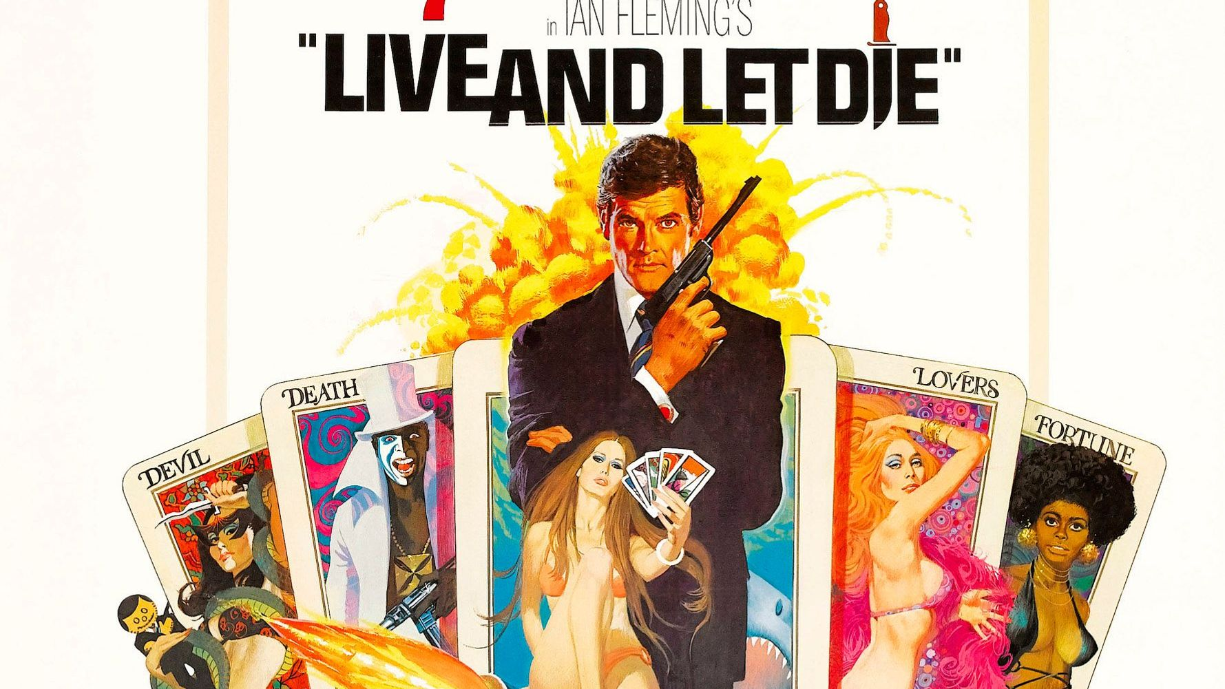 Bond Posters: Live and Let Die