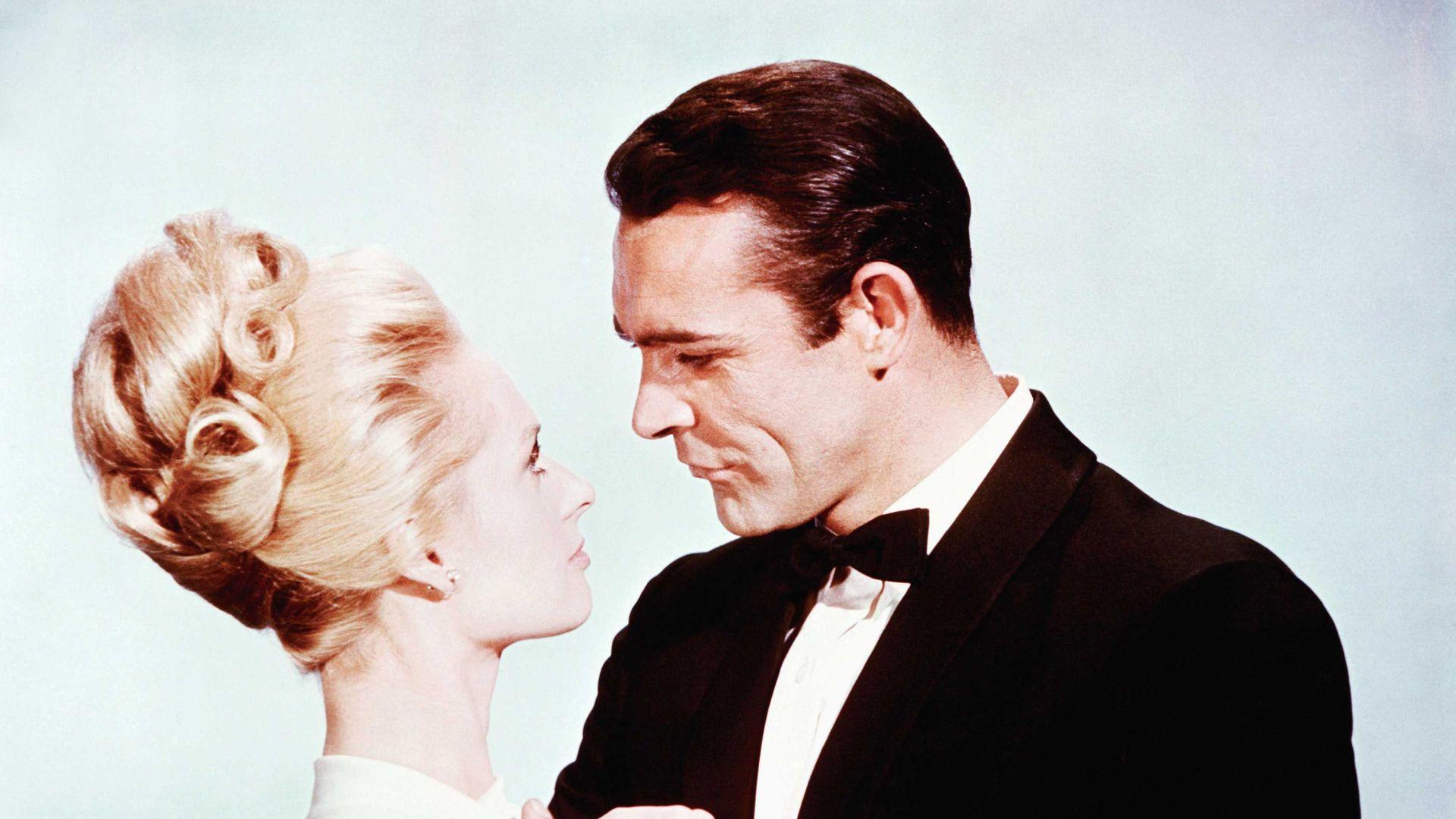 MARNIE, Tippi Hedren, Sean Connery, 1964.