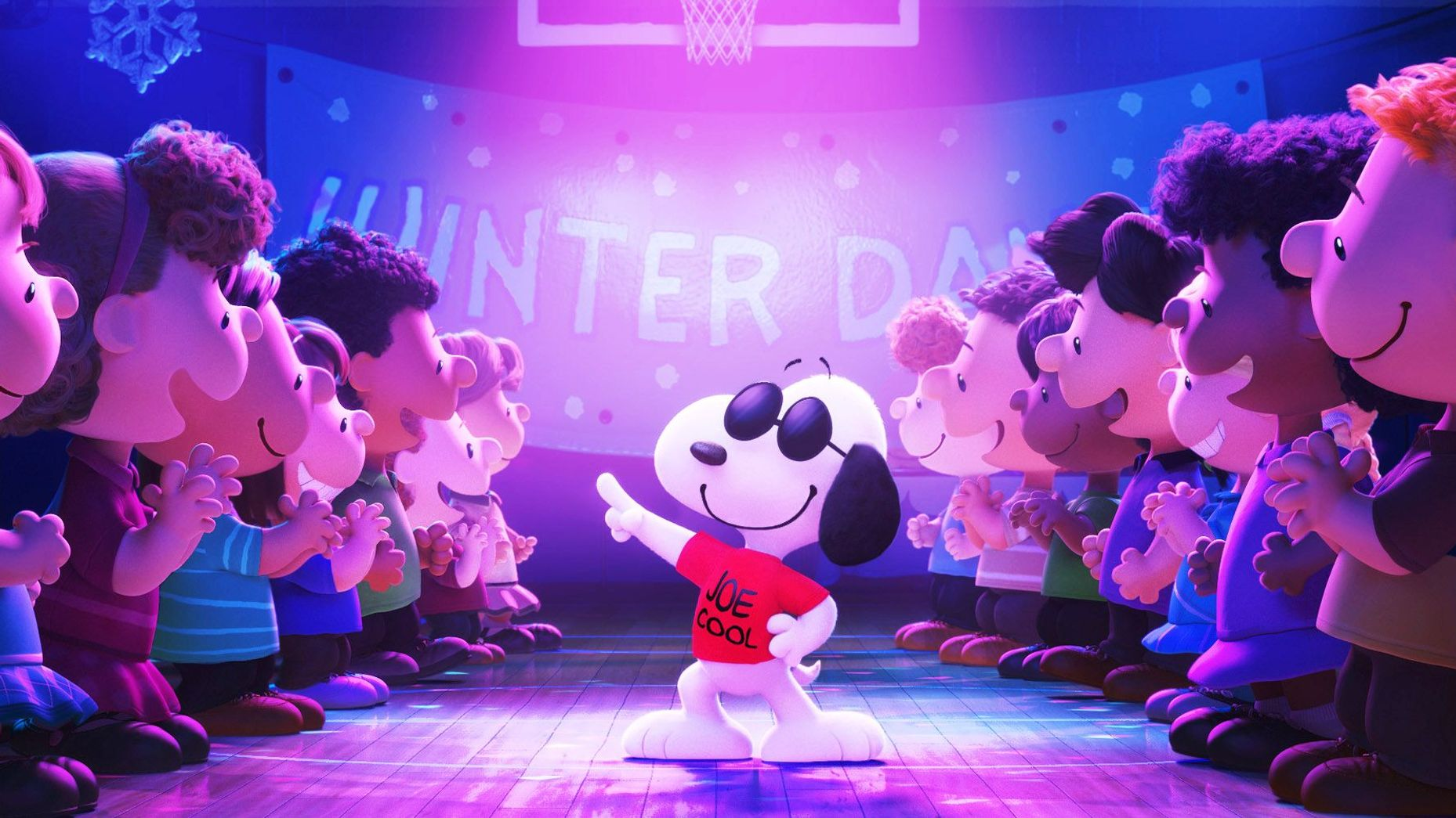 """Snoopy from """"The Peanuts Movie."""""""
