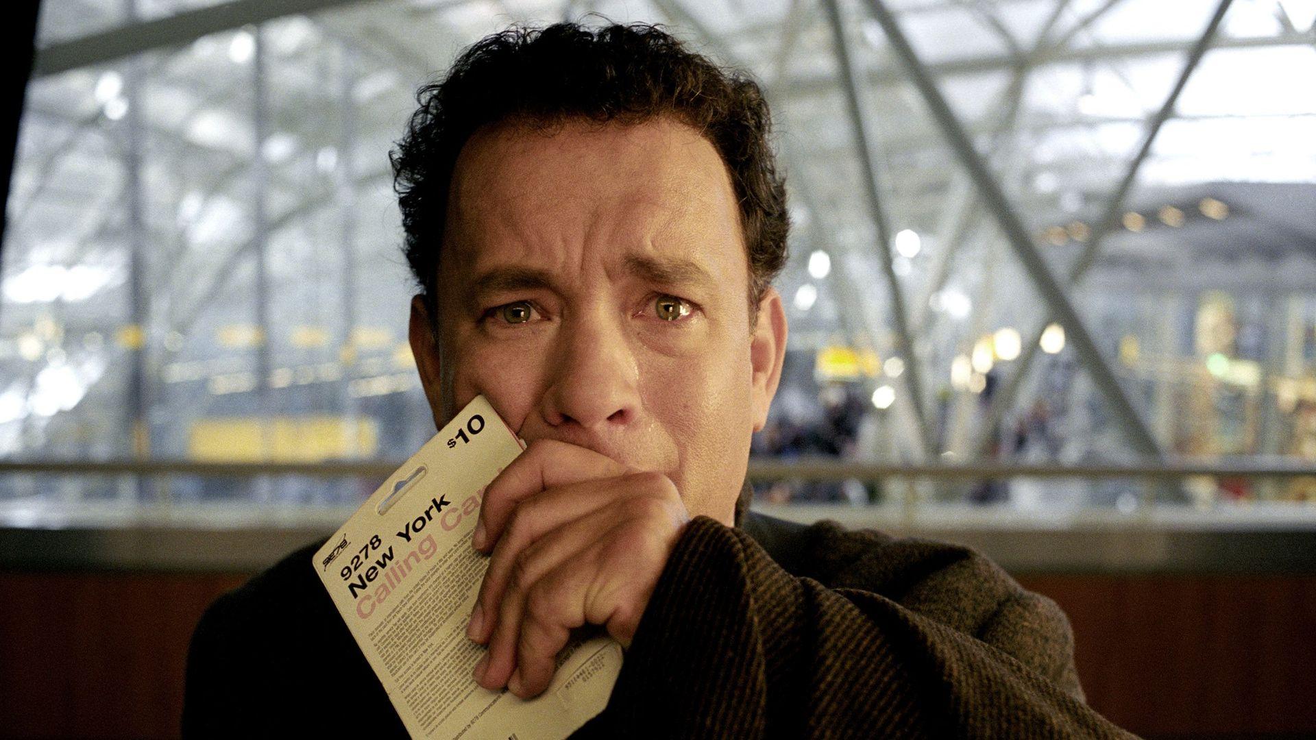 "Tom Hanks in ""The Terminal."""