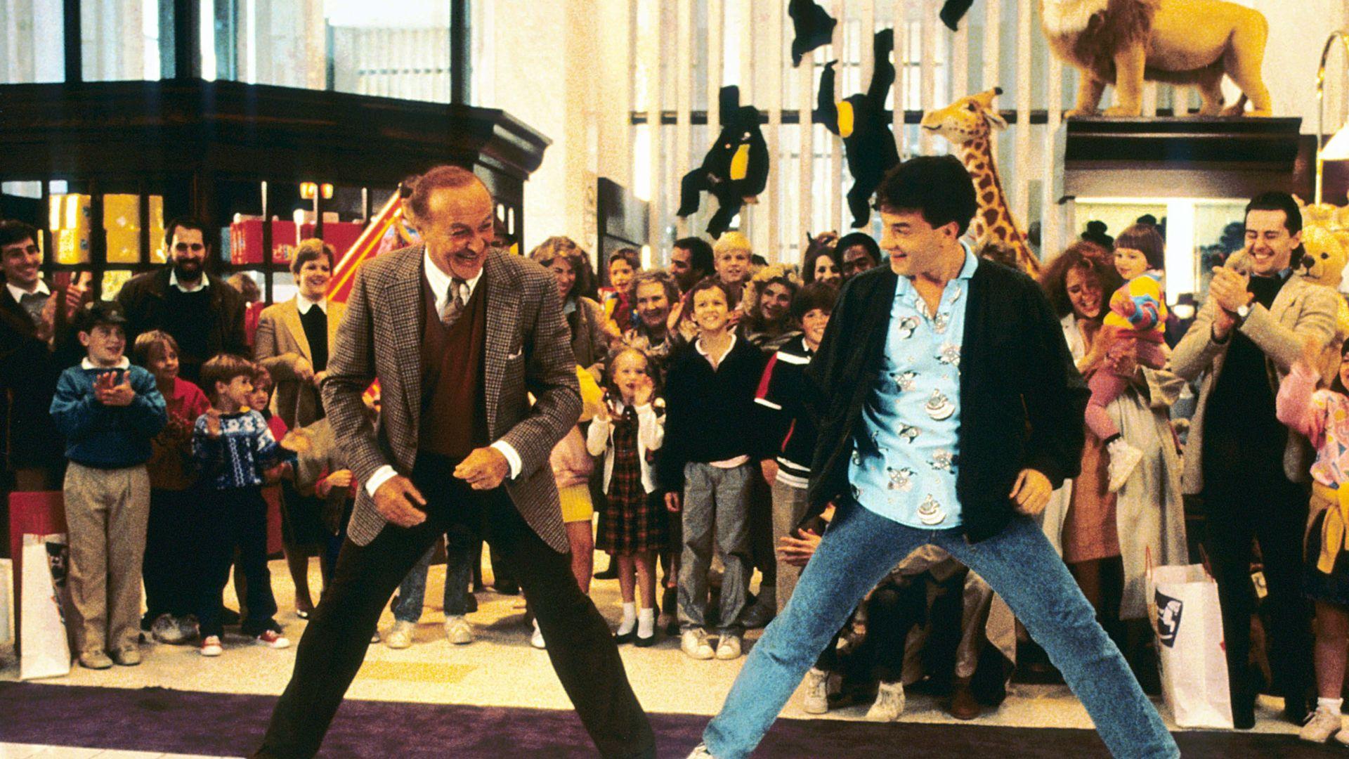 "Robert Loggia, Tom Hanks in ""Big."""