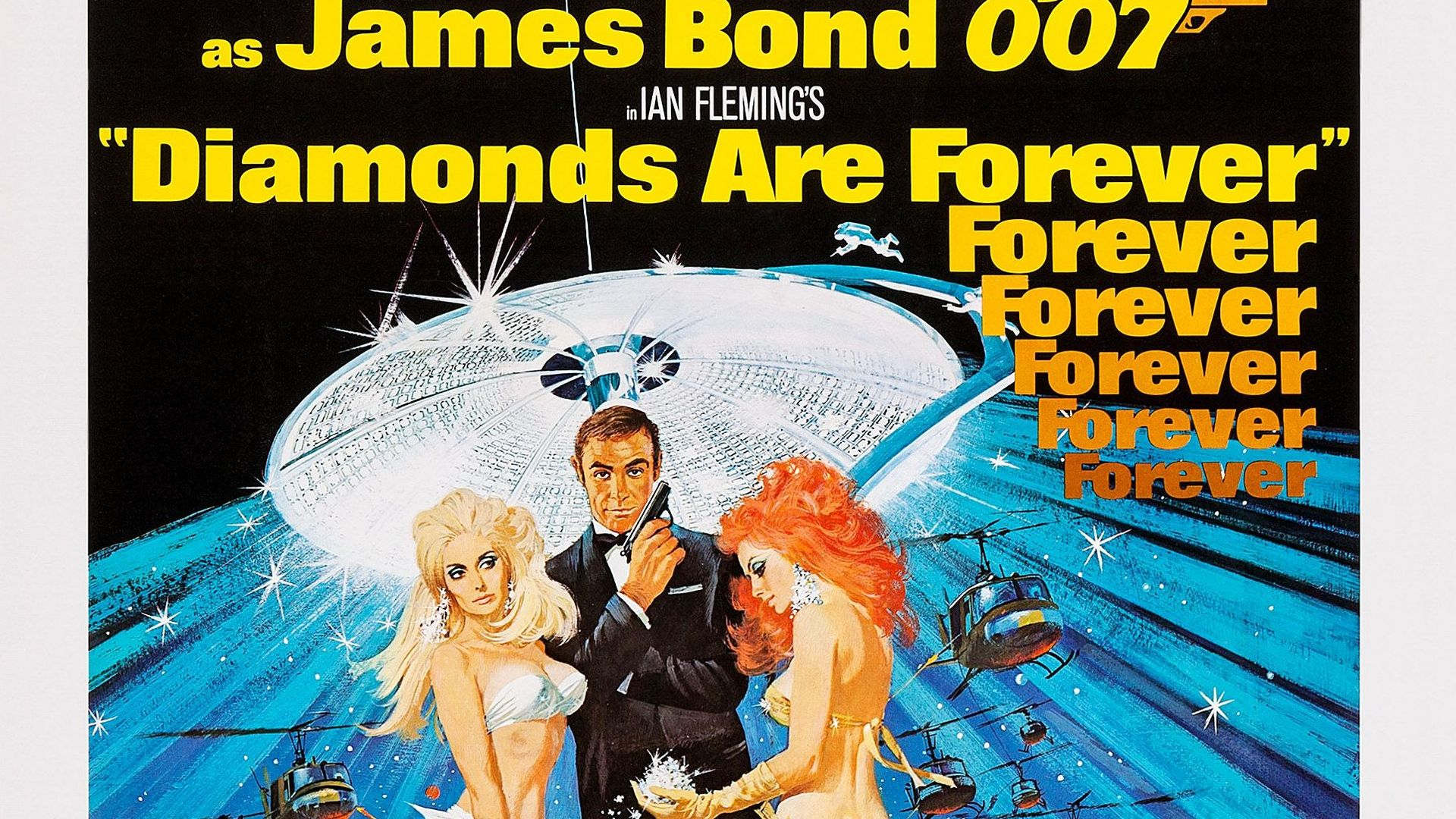 Bond Posters: Diamonds Are Forever
