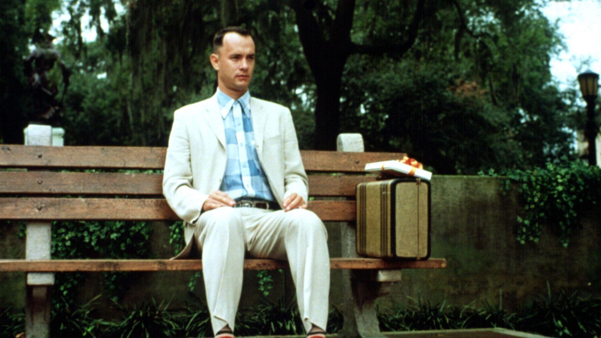 """Tom Hanks in """"Forrest Gump."""""""