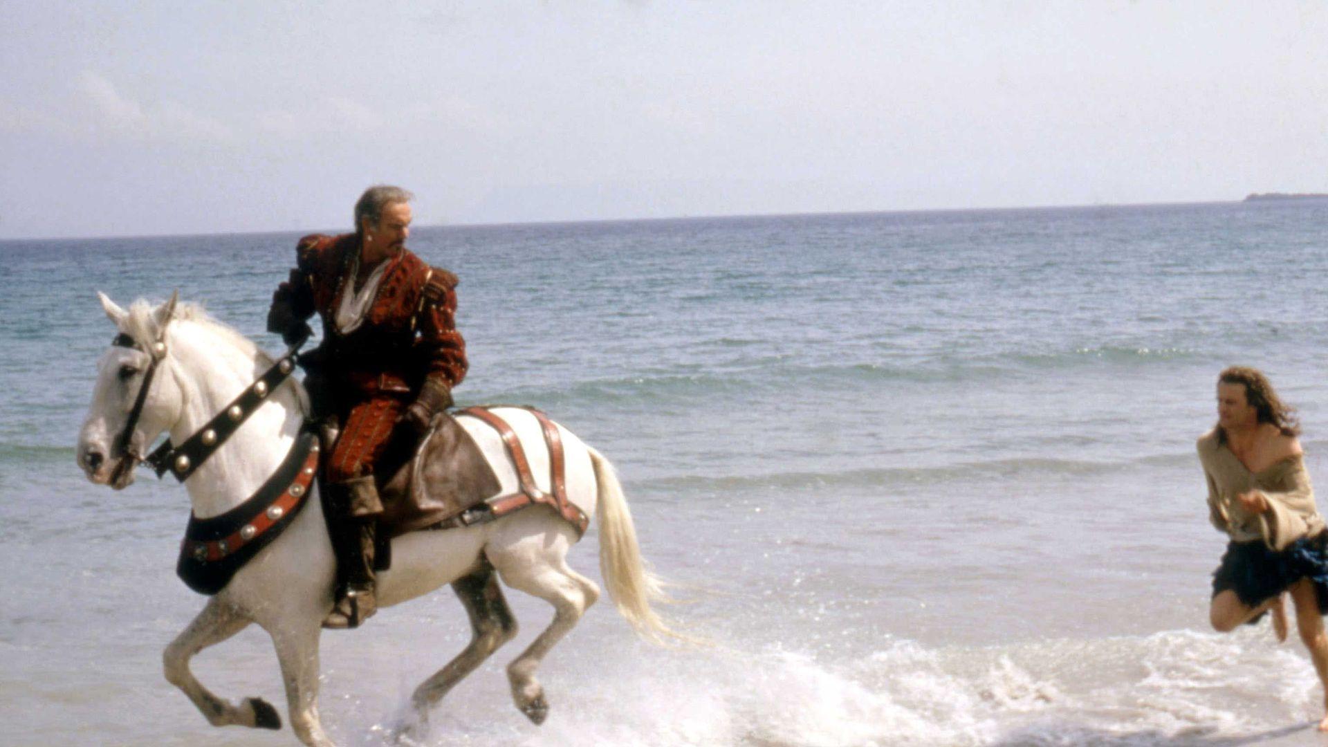 HIGHLANDER, Sean Connery, Christopher Lambert, 1986.