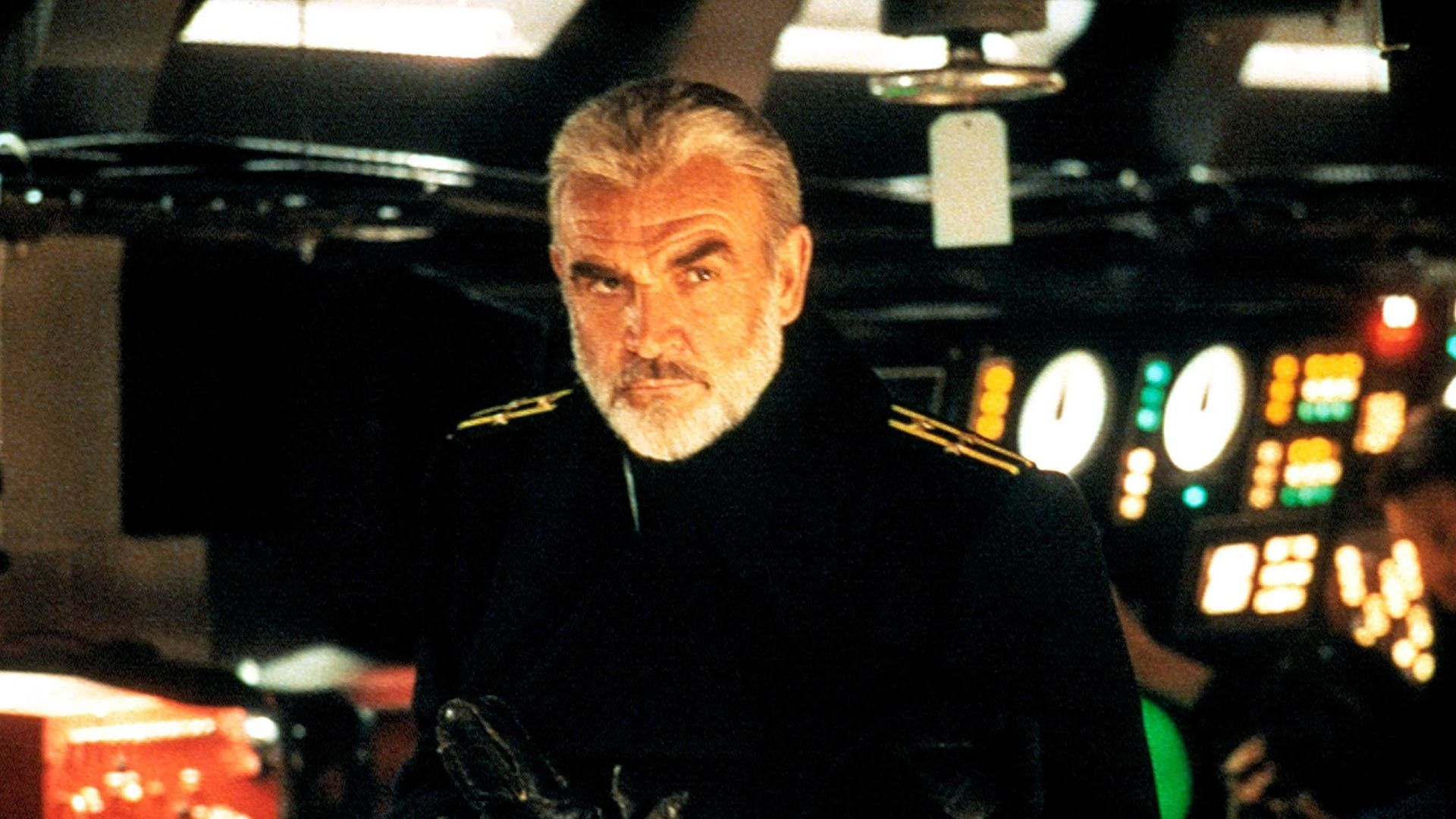 THE HUNT FOR RED OCTOBER, Sean Connery, 1990.