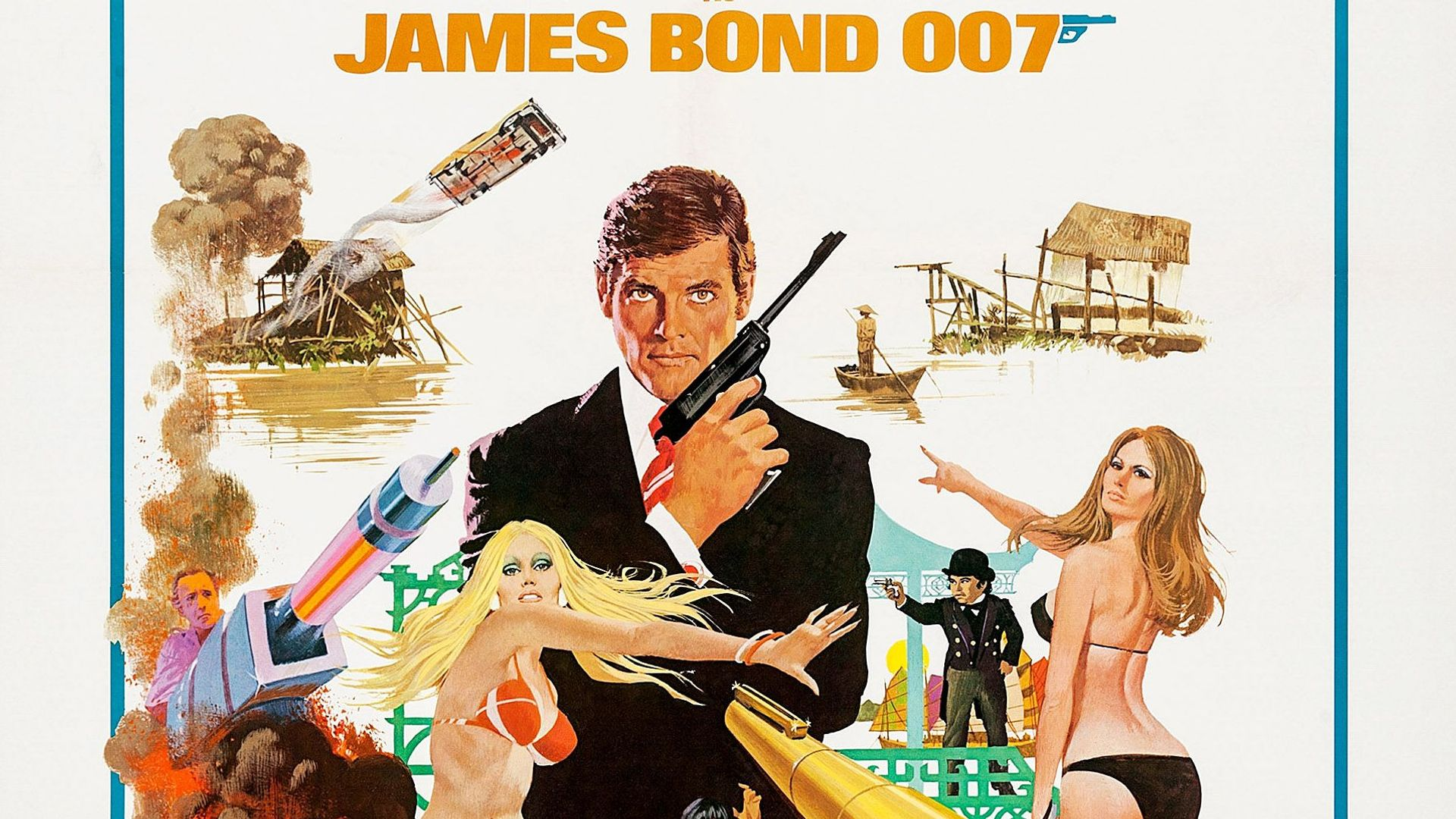Bond Posters: The Man with the Golden Gun