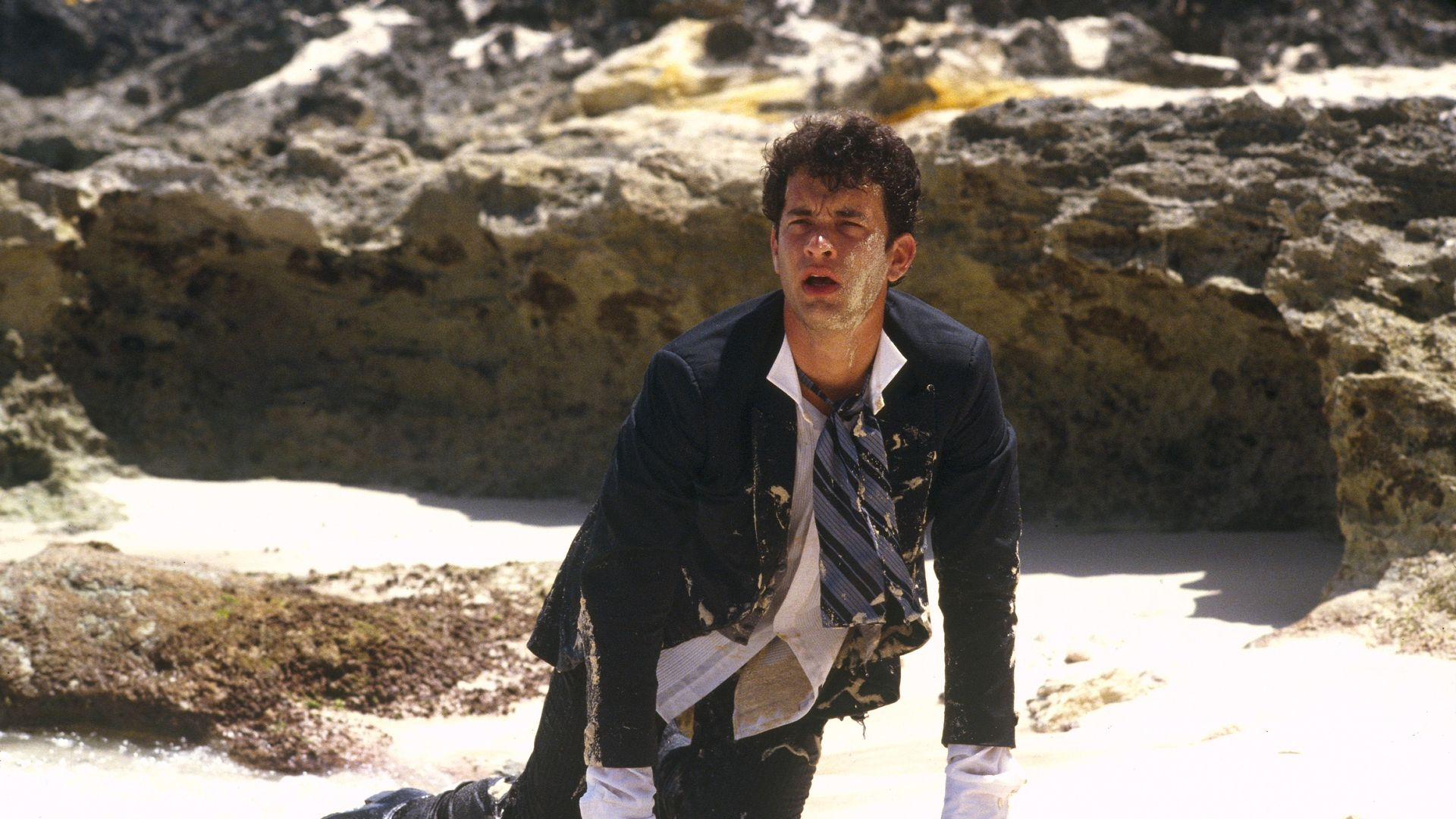 """Tom Hanks in """"Splash."""""""