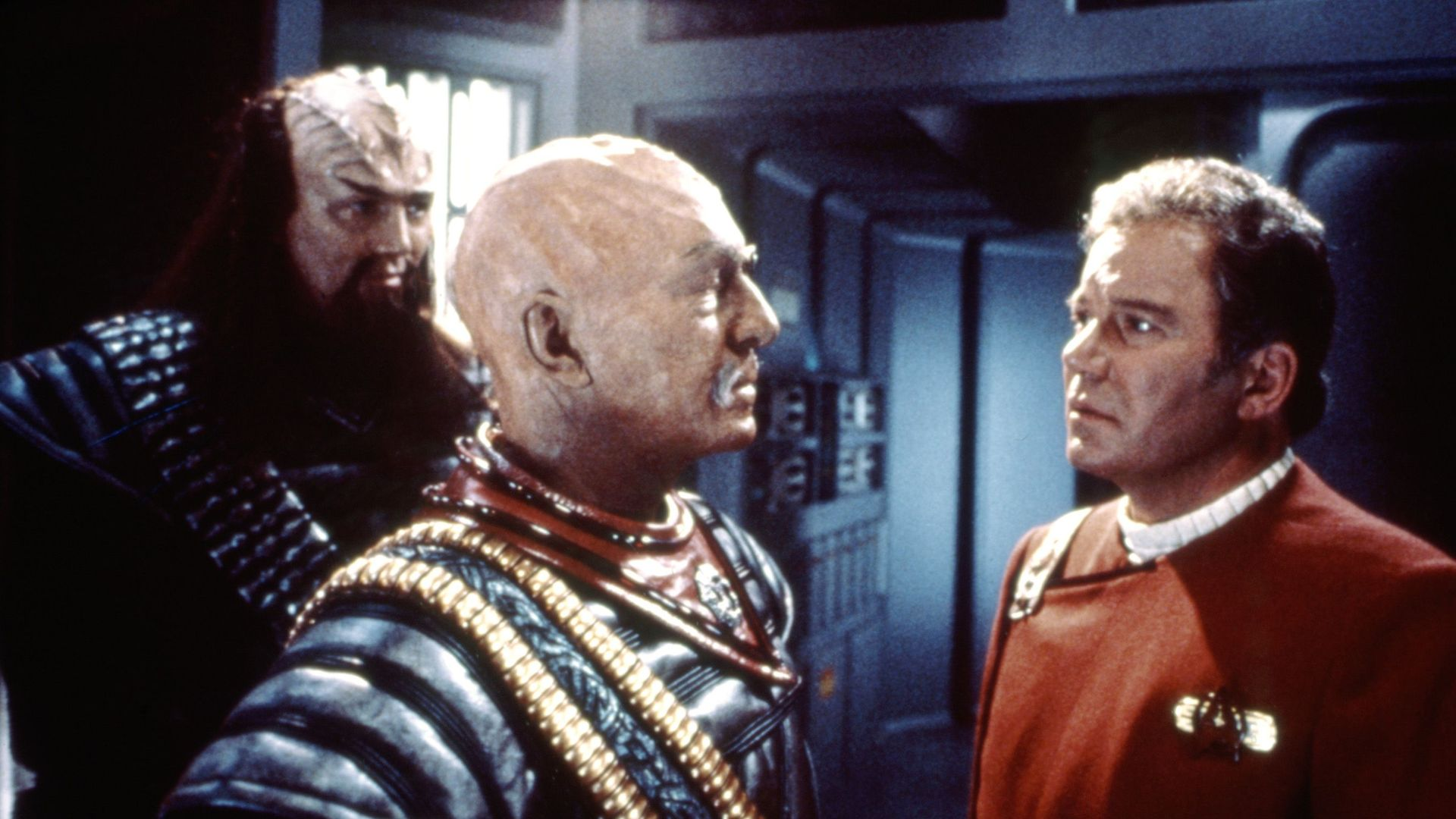 STAR TREK VI: THE UNDISCOVERED COUNTRY, Christopher Plummer, William Shatner, 1991.