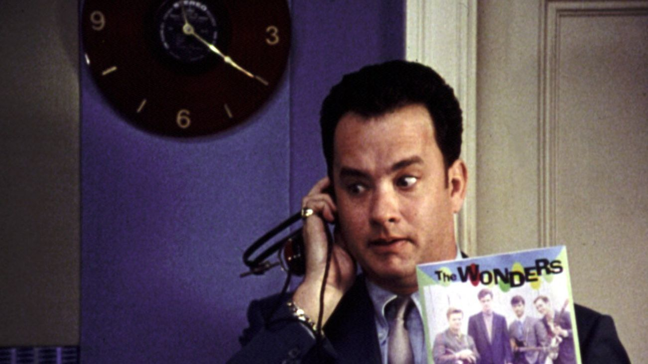 """Tom Hanks in """"That Thing You Do!"""""""