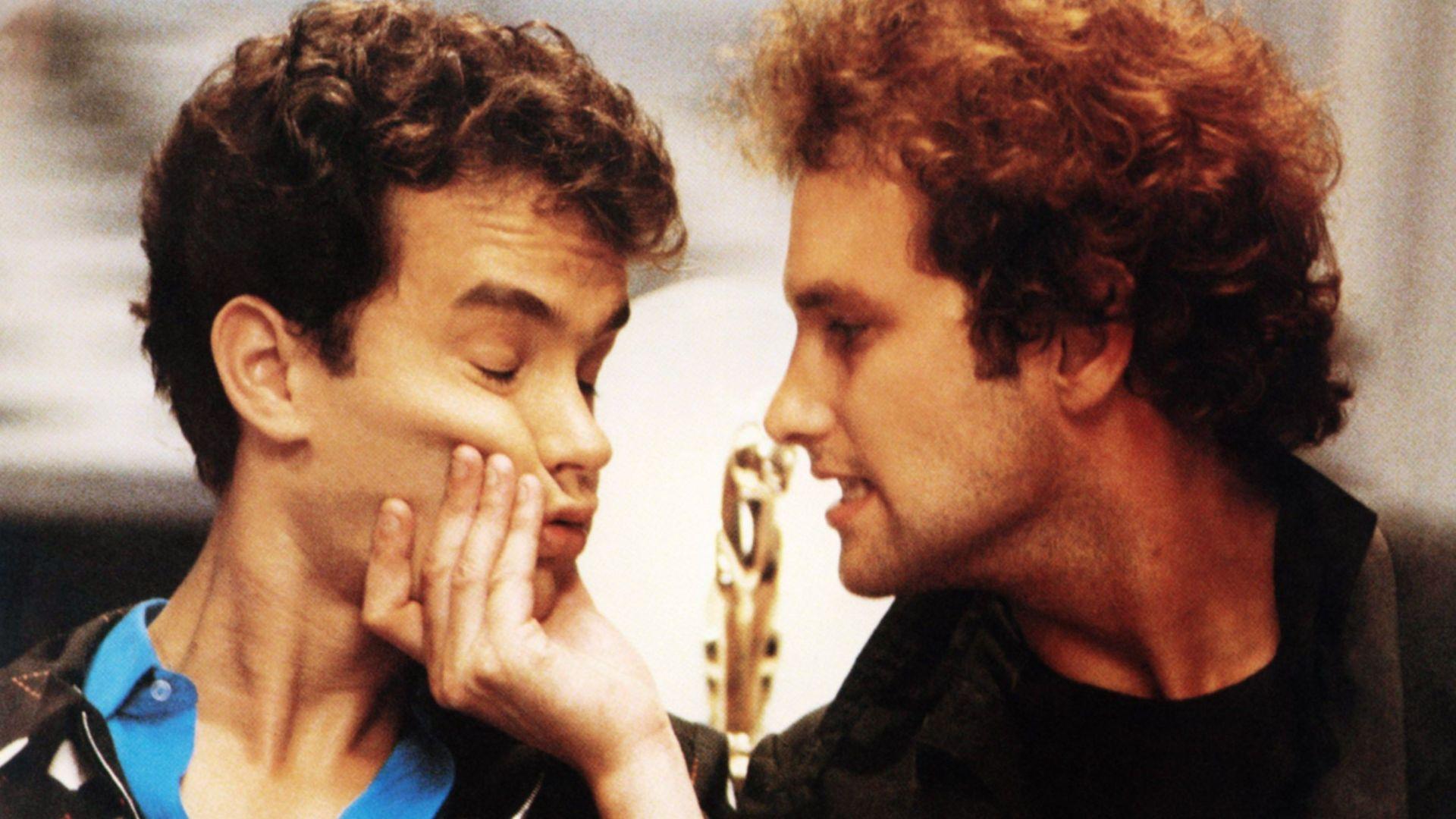 "Tom Hanks, Bradford Bancroft in ""Bachelor Party."""