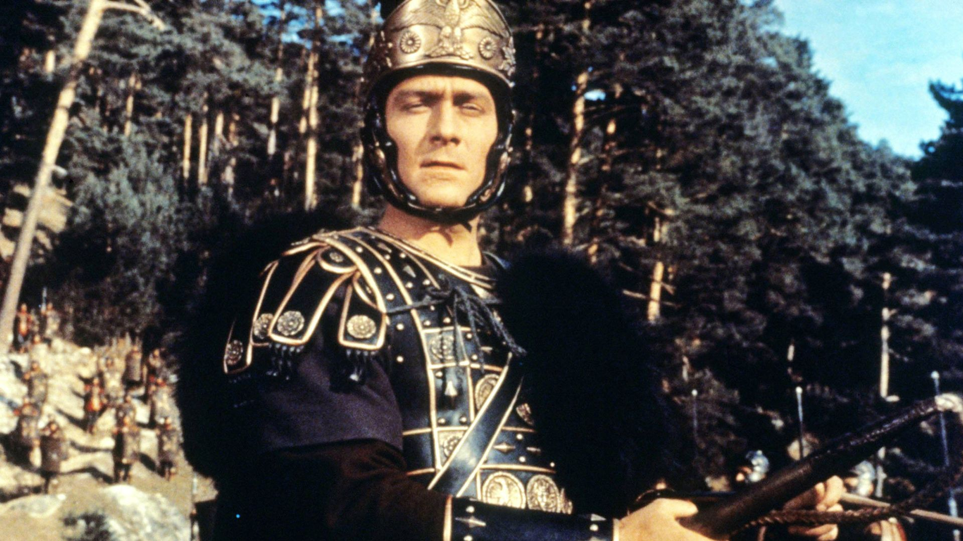 THE FALL OF THE ROMAN EMPIRE, Christopher Plummer, 1964