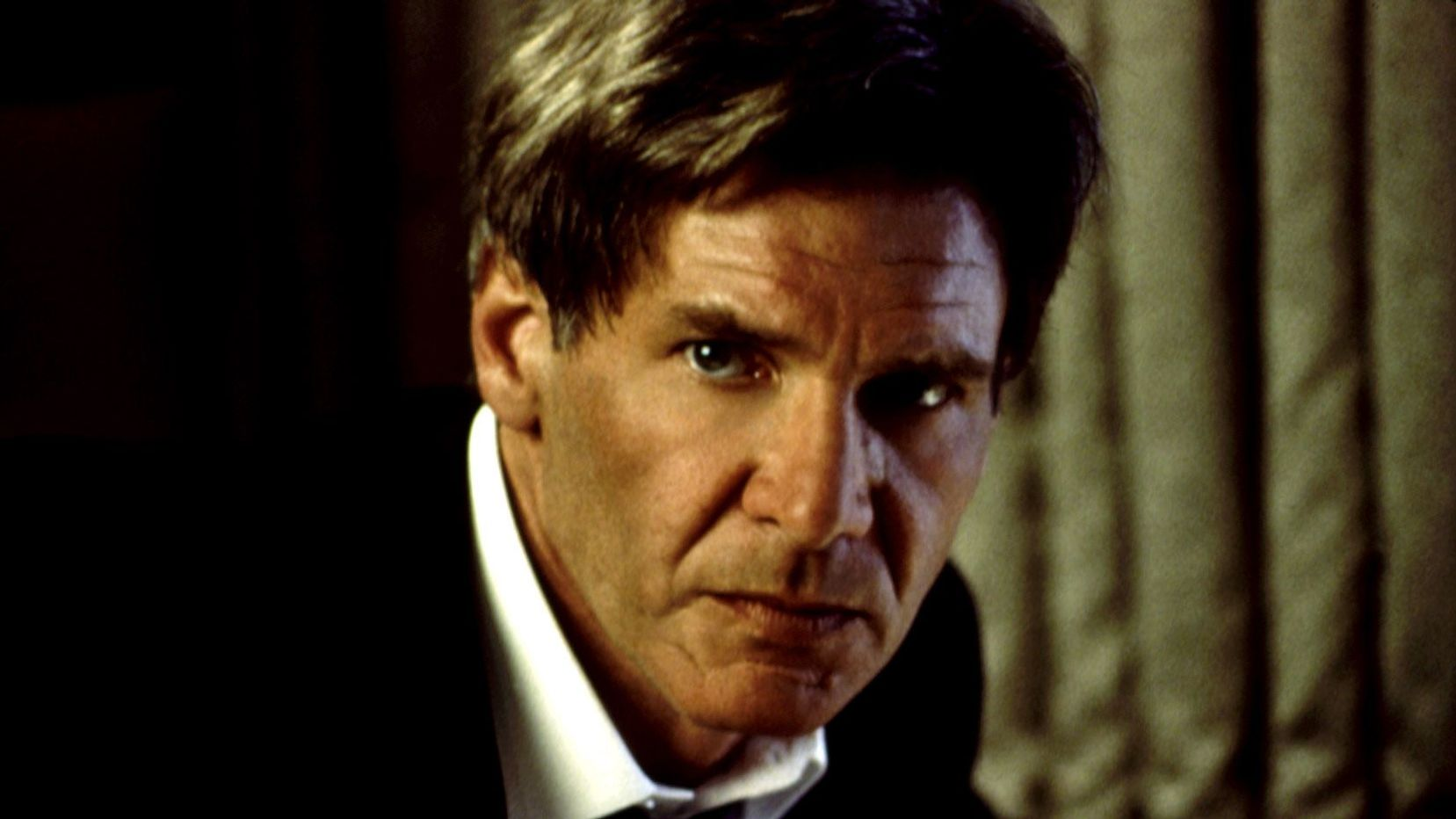 """Harrison Ford in """"Air Force One."""""""