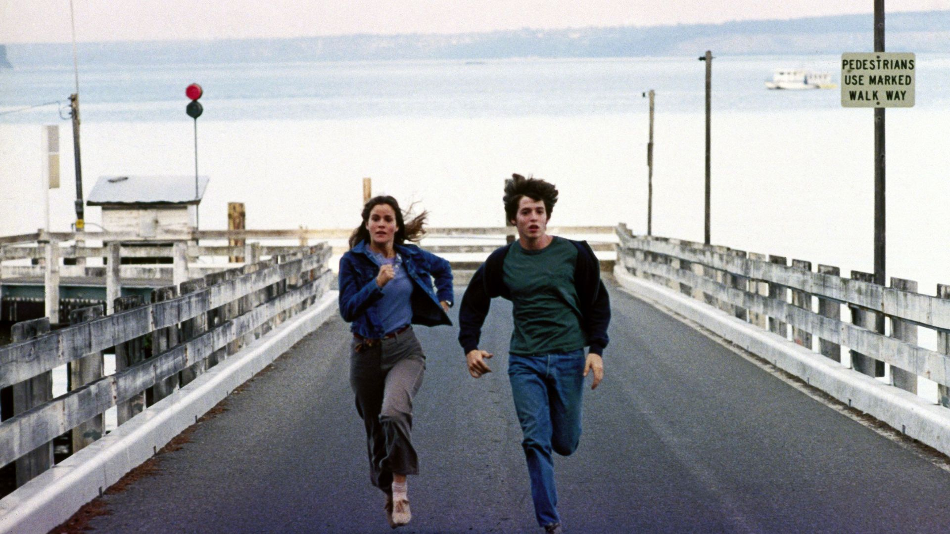 """Ally Sheedy and Matthew Broderick in """"WarGames."""""""