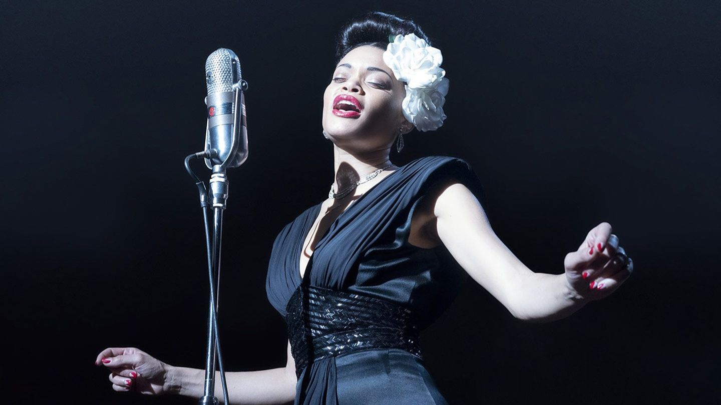 """Andra Day in """"The United States vs. Billie Holiday."""""""