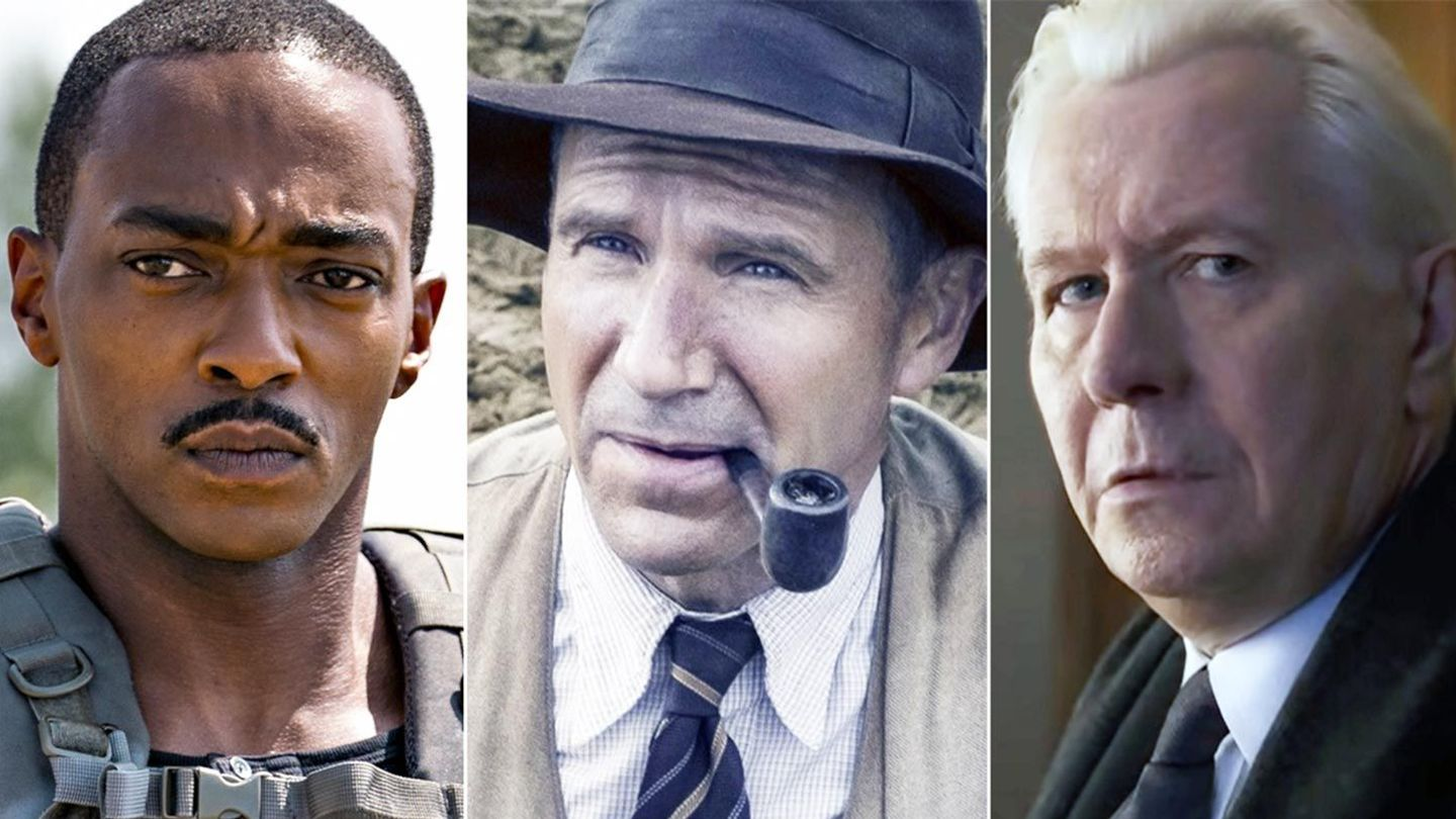 Anthony Mackie, Ralph Fiennes, and Gary Oldman