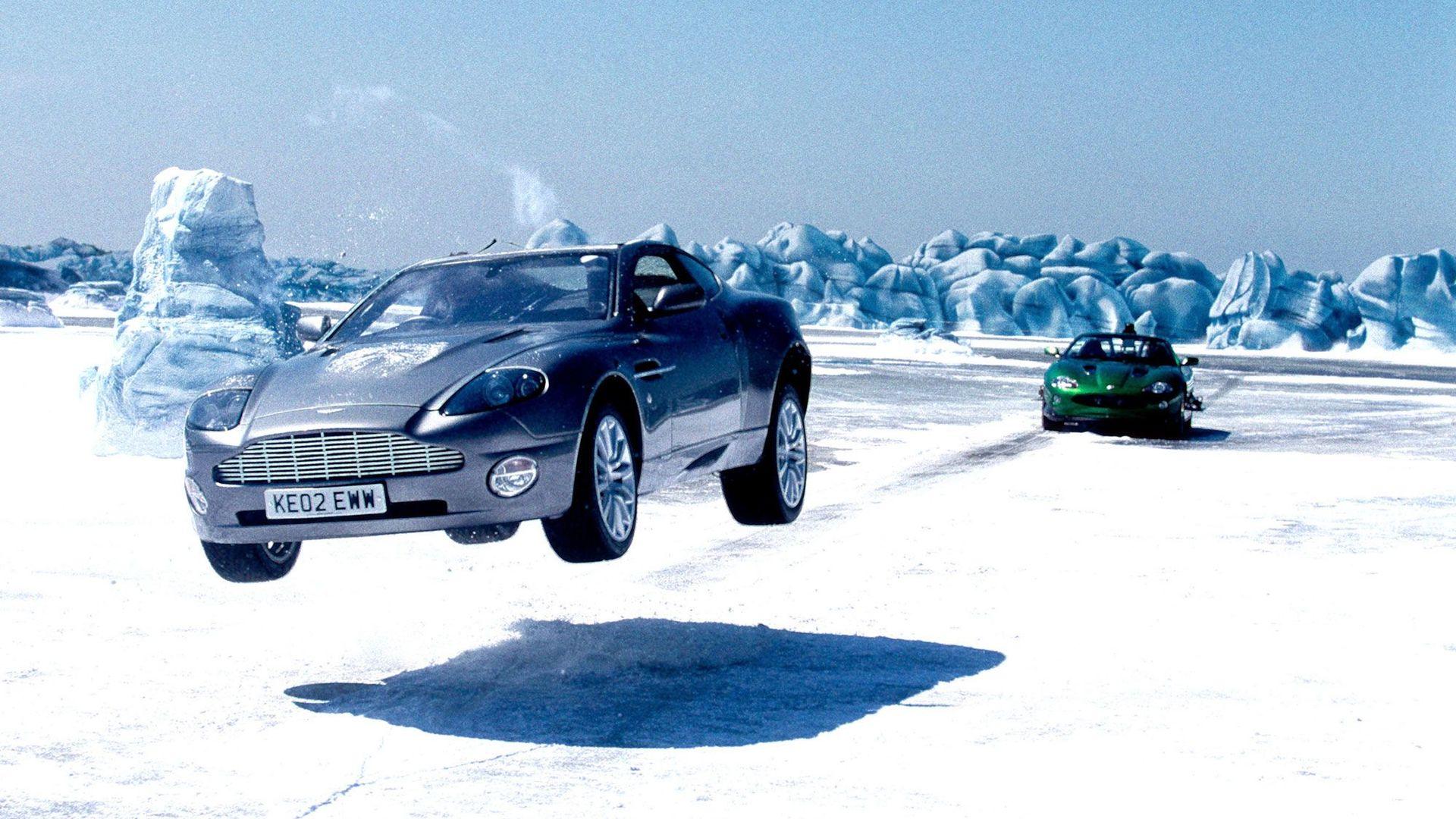 "Aston Martin Vanquish as seen in ""Die Another Day."""