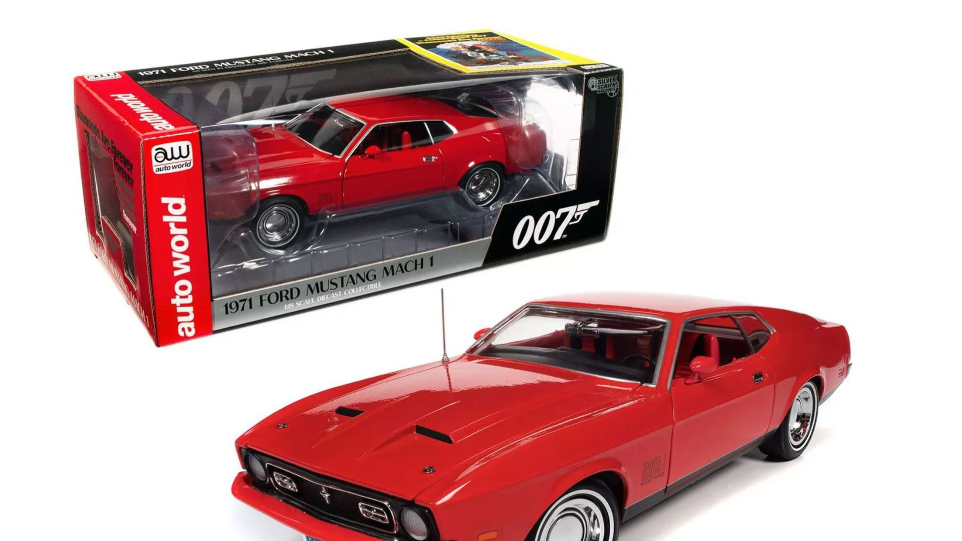 1971 Ford Mustang Mach 1 Diecast Model Car