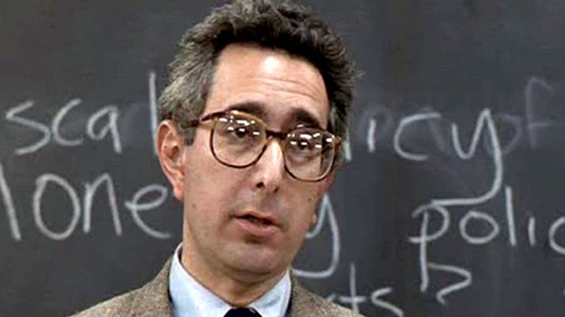 """Ben Stein in """"Ferris Bueller's Day Off."""""""