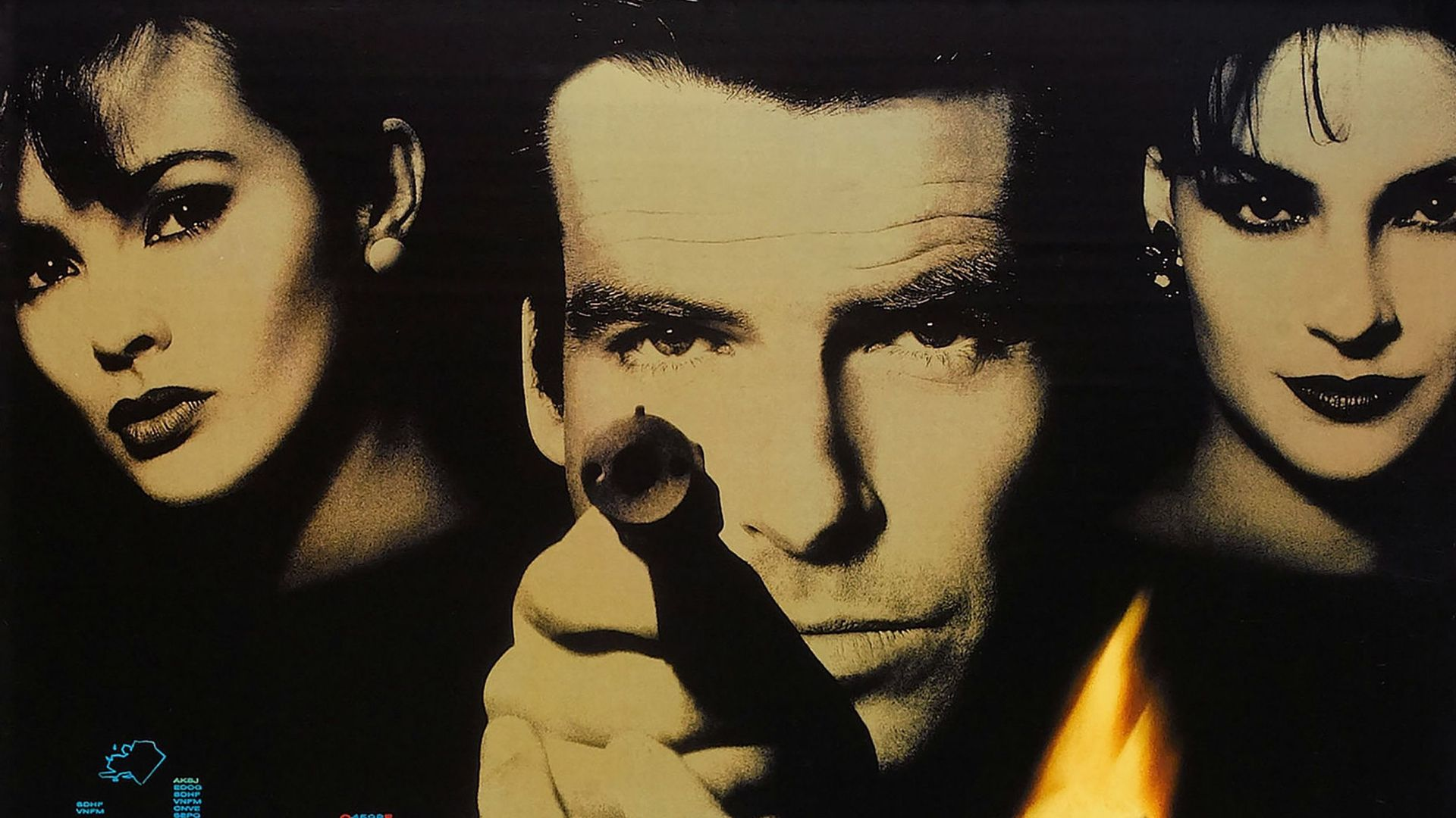 "Best James Bond Games - Poster art from ""GoldenEye."""