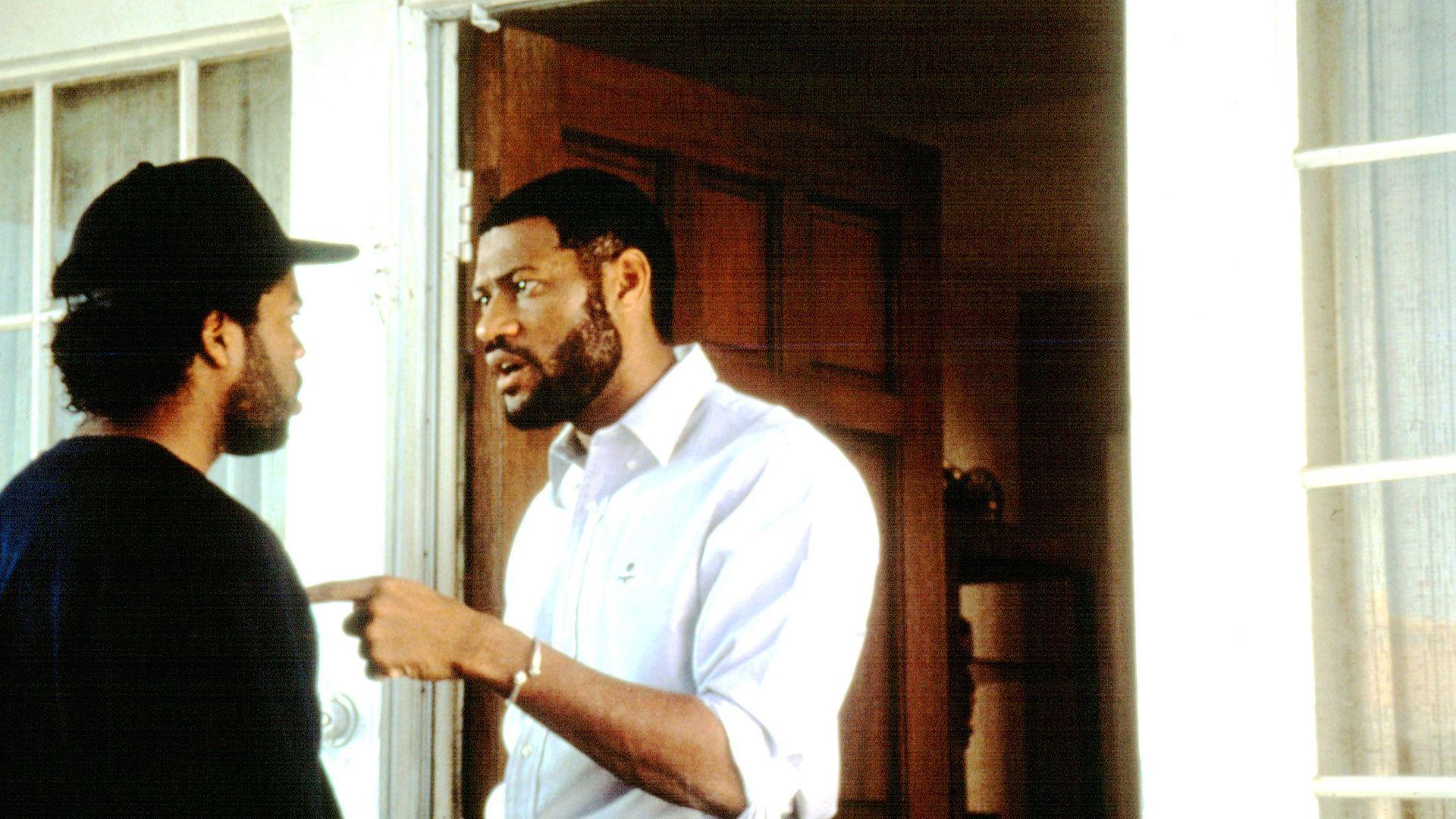 "Laurence Fishburne as Furious Styles in ""Boyz n the Hood."""