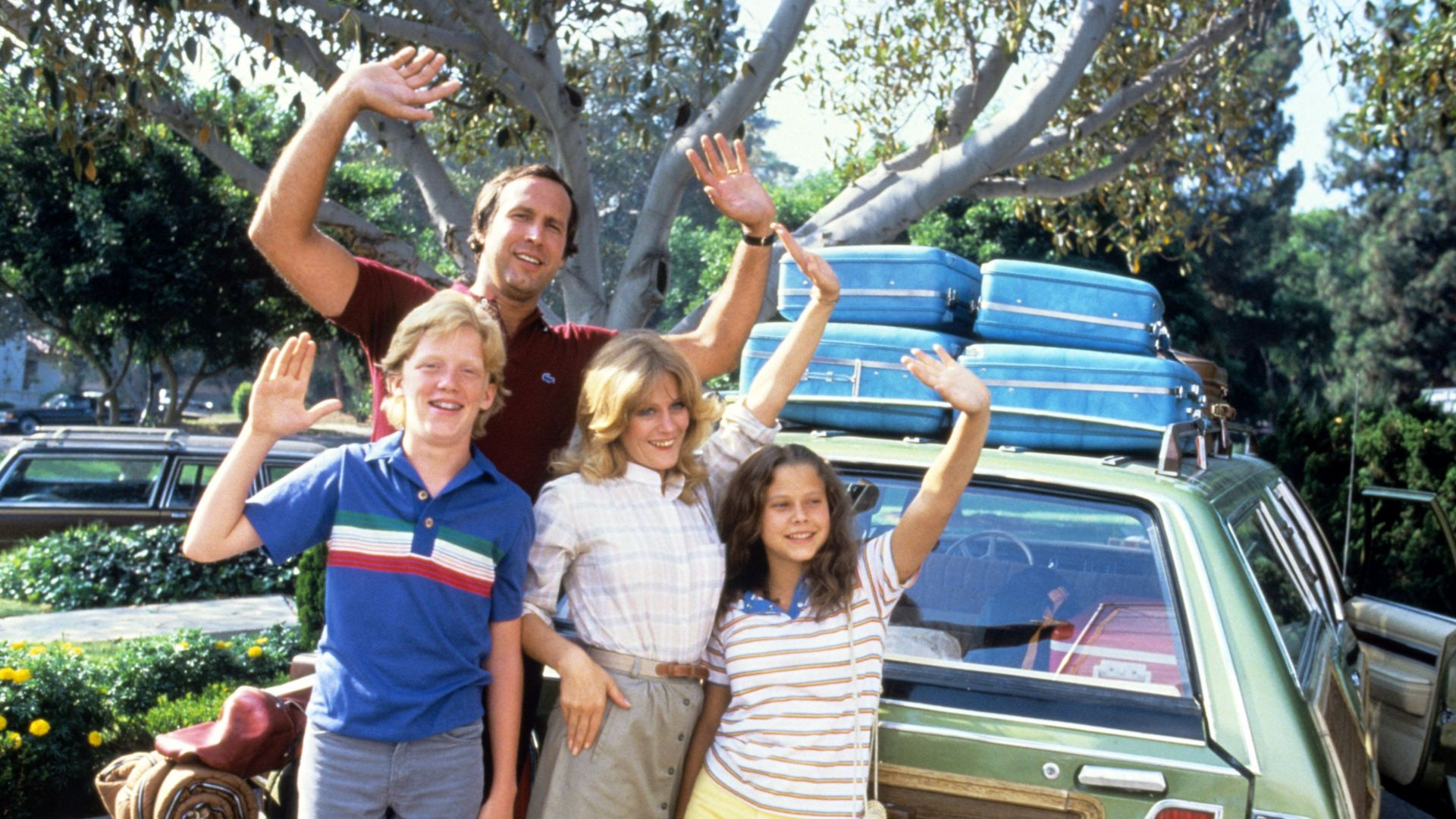 """Chevy Chase as Clark Griswold in """"National Lampoon's Vacation."""""""