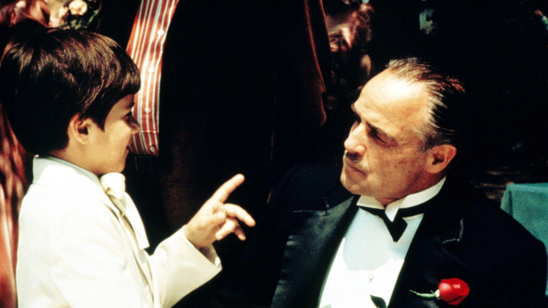 """Marlon Brando as Vito Corleone in """"The Godfather."""""""