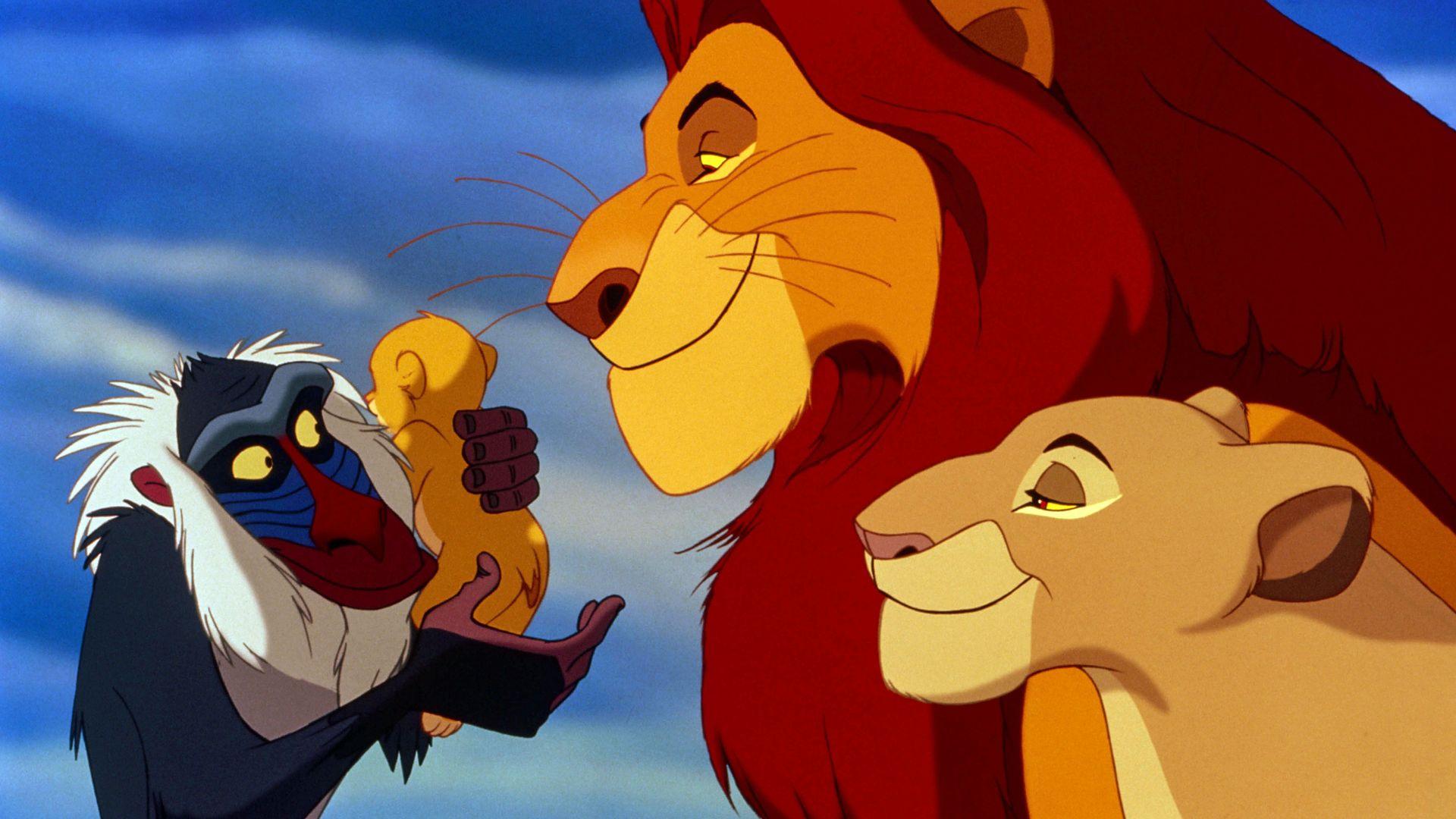 """James Earl Jones voicing Mustafa in """"The Lion King."""""""