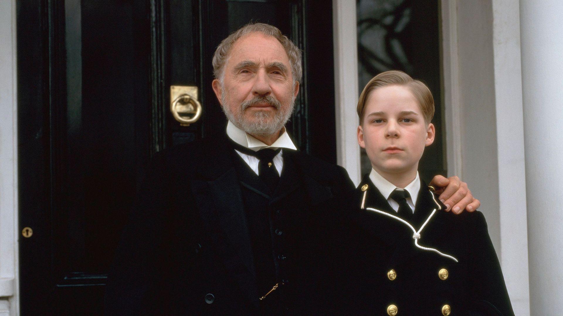 """Nigel Hawthorne as Arthur Winslow in """"The Winslow Boy."""""""