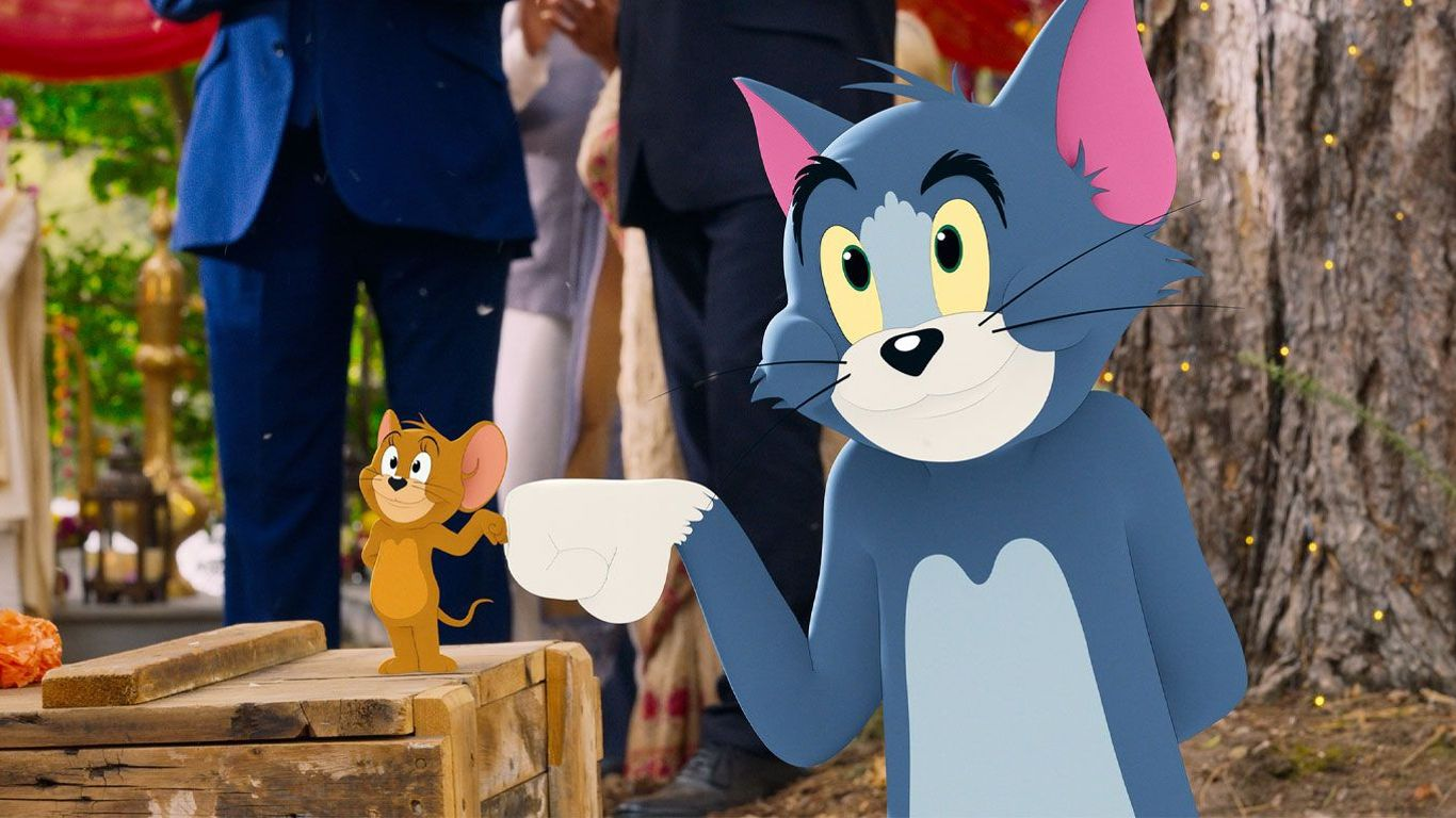"""Jerry Mouse and Tom Cat in """"Tom & Jerry"""""""