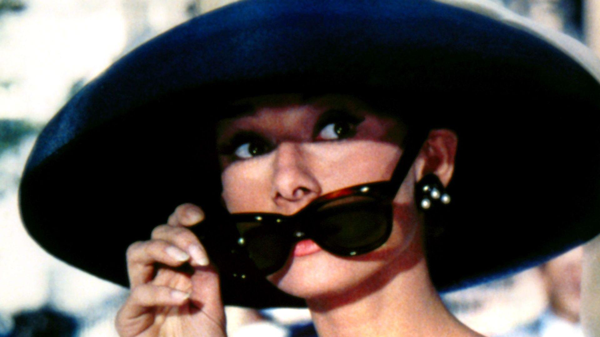 "Audrey Hepburn in ""Breakfast at Tiffany's."""