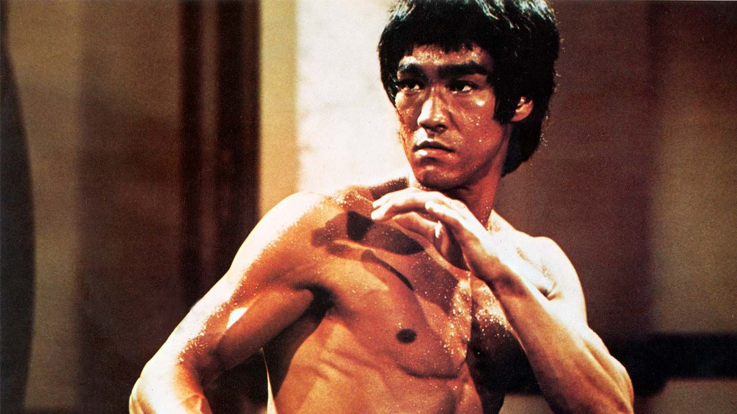"""Bruce Lee in """"Enter the Dragon."""""""