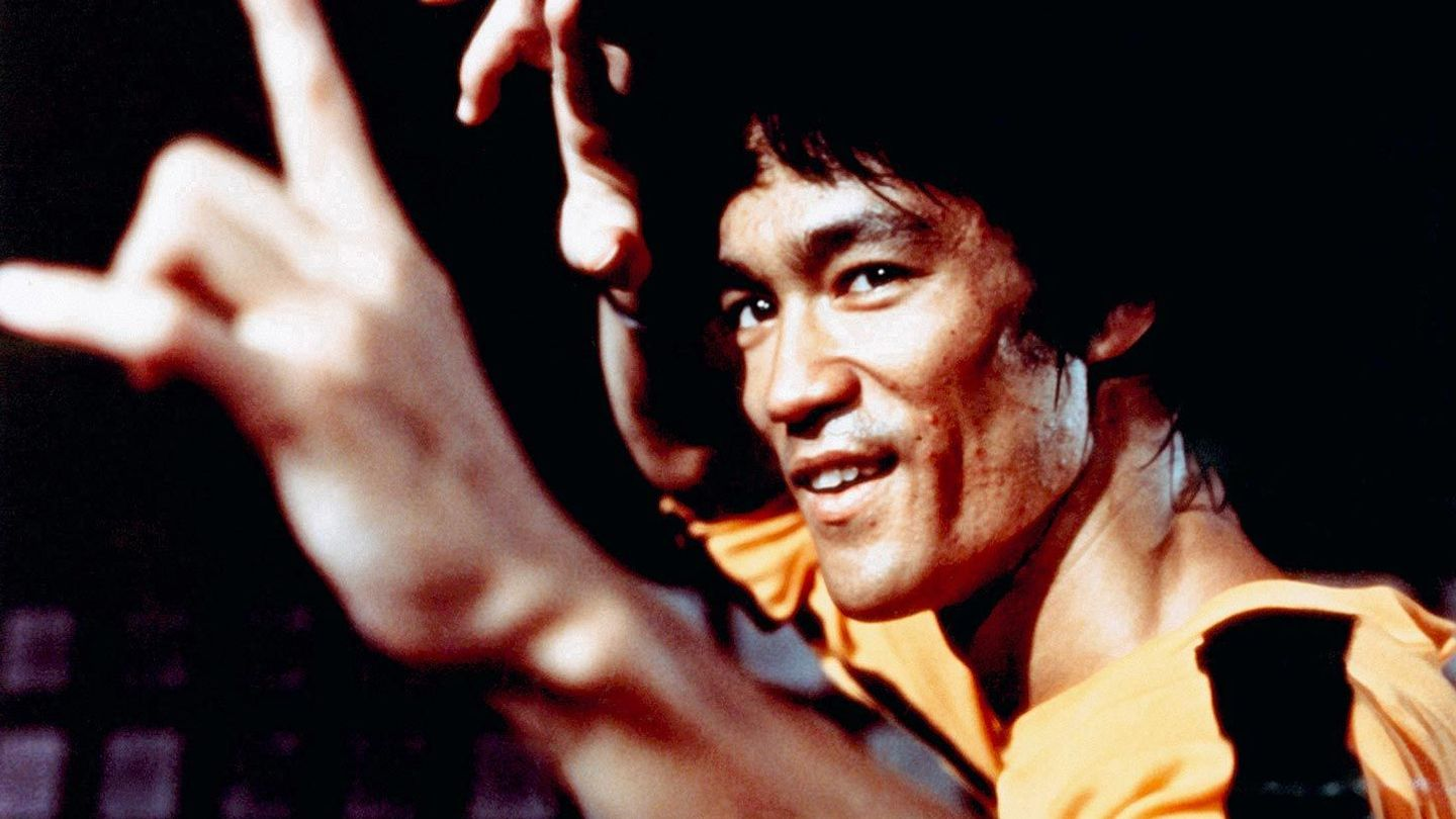 """Bruce Lee in """"Game of Death."""""""