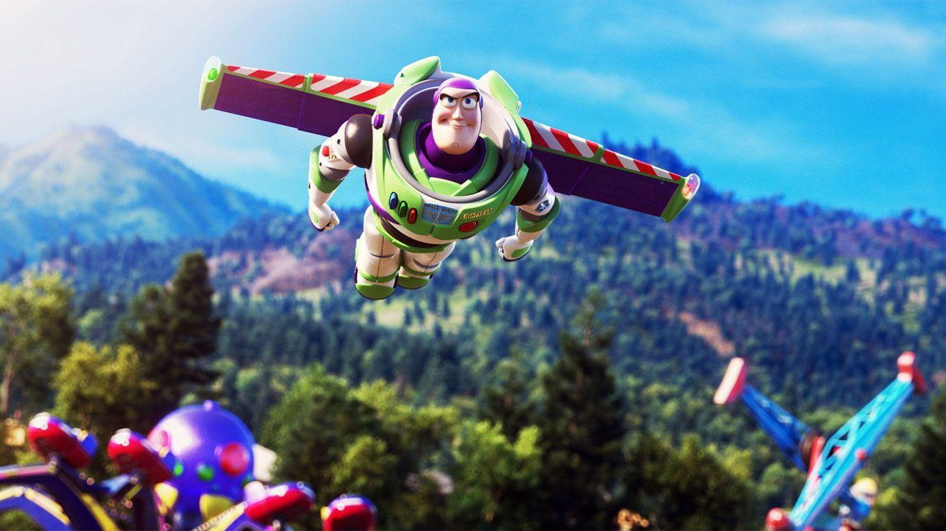"""Buzz Lightyear (voice: Tim Allen) in """"Toy Story 4."""""""