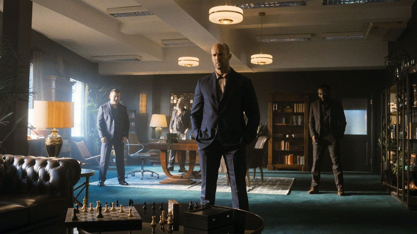 """Top Movies at Home - Jason Statham and team in """"Wrath of Man."""""""