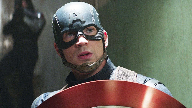 """Chris Evans in """"Captain America: Civil War."""""""