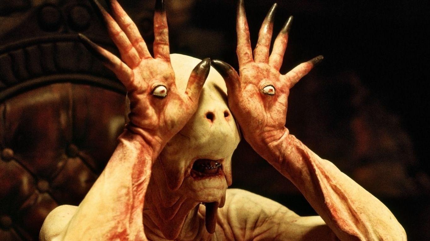 Doug Jones as Pale Man in Pan's Labyrinth.