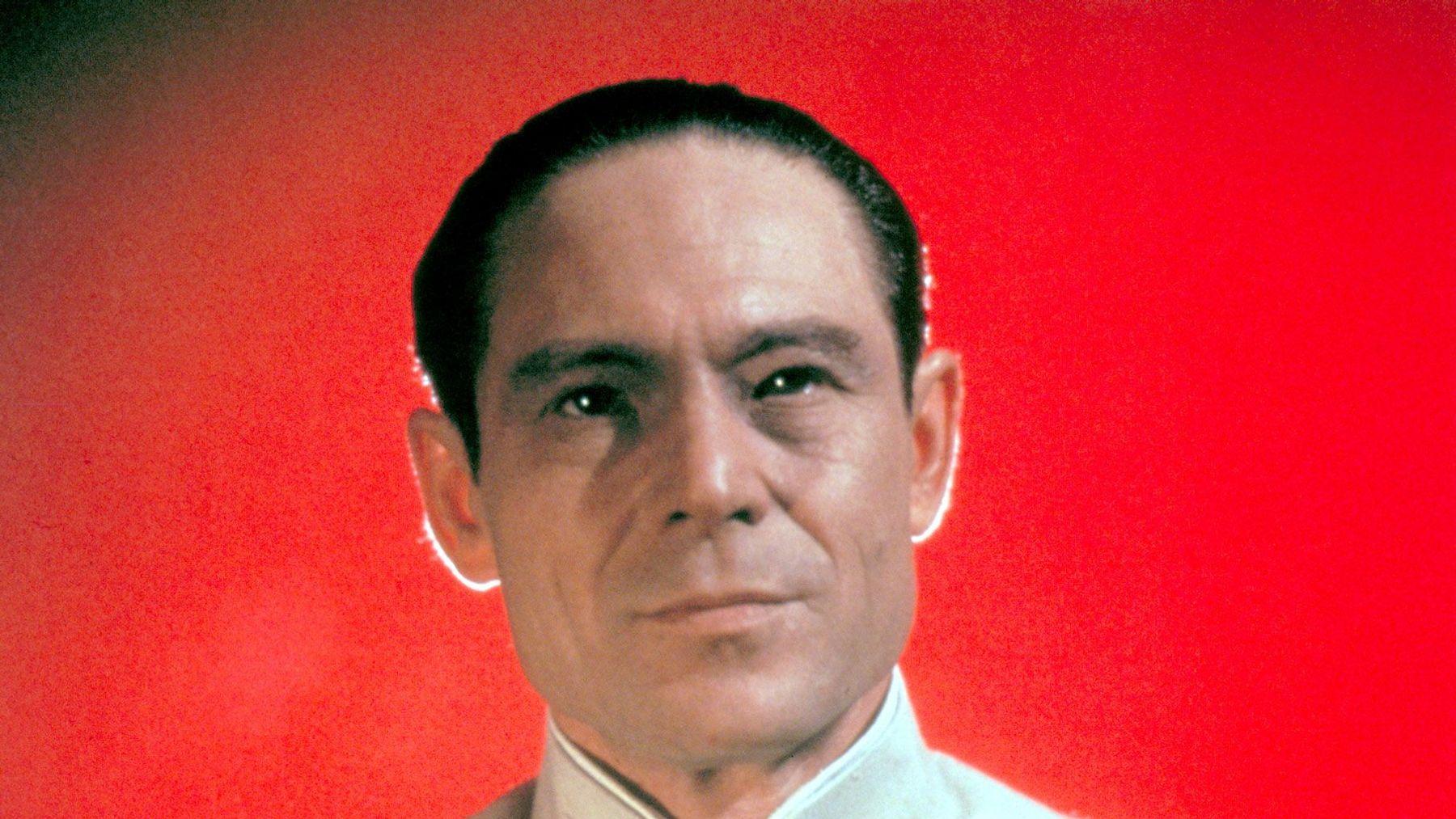 """Joseph Wiseman in """"Dr. No."""""""