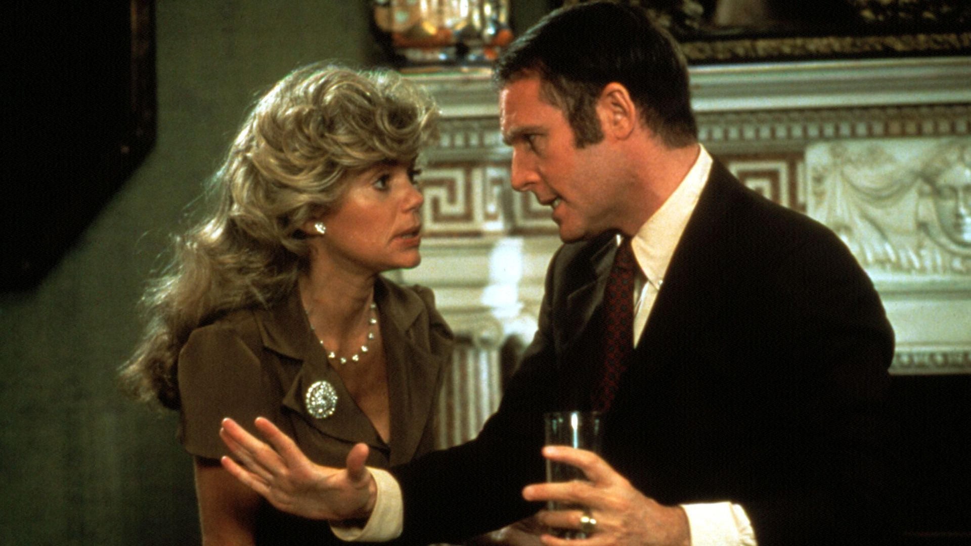 """Dyan Cannon and Charles Grodin in """"Heaven Can Wait."""""""