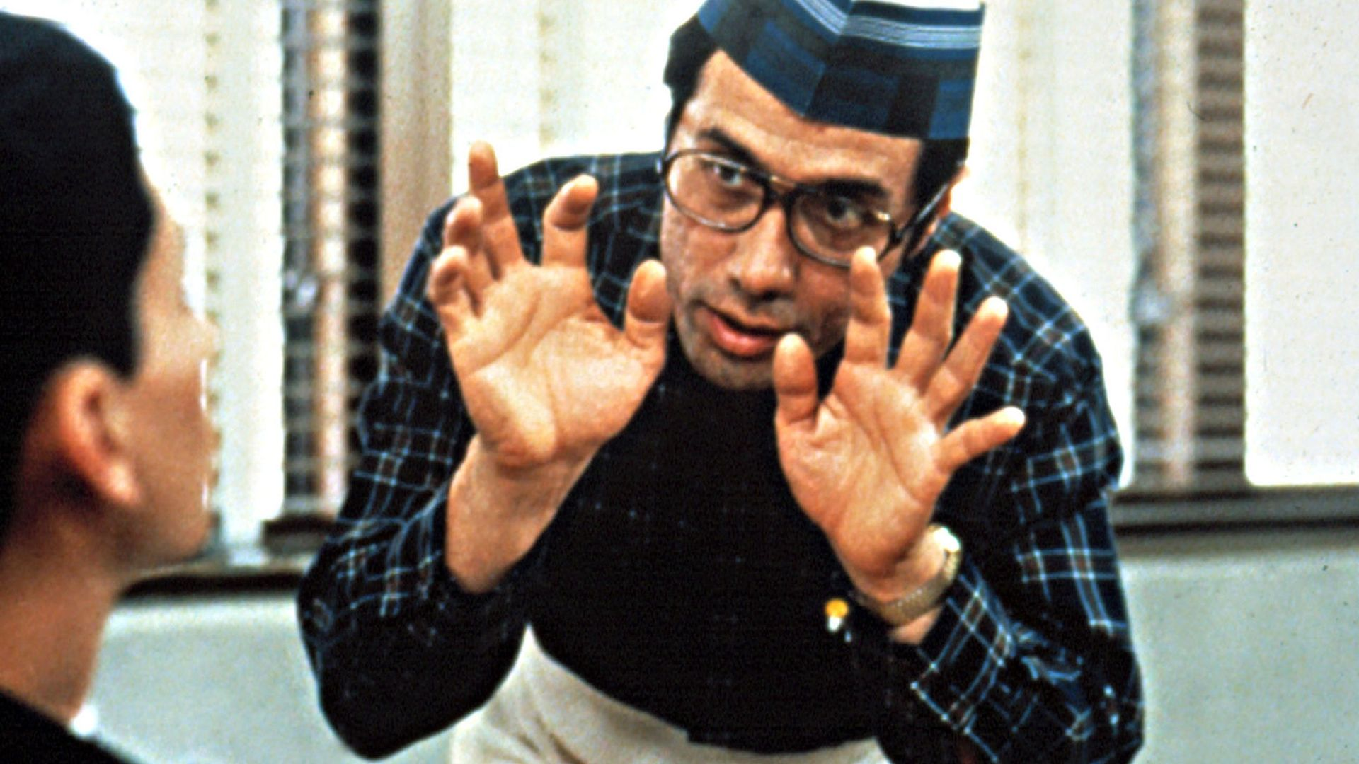 """Edward James Olmos in """"Stand and Deliver."""""""
