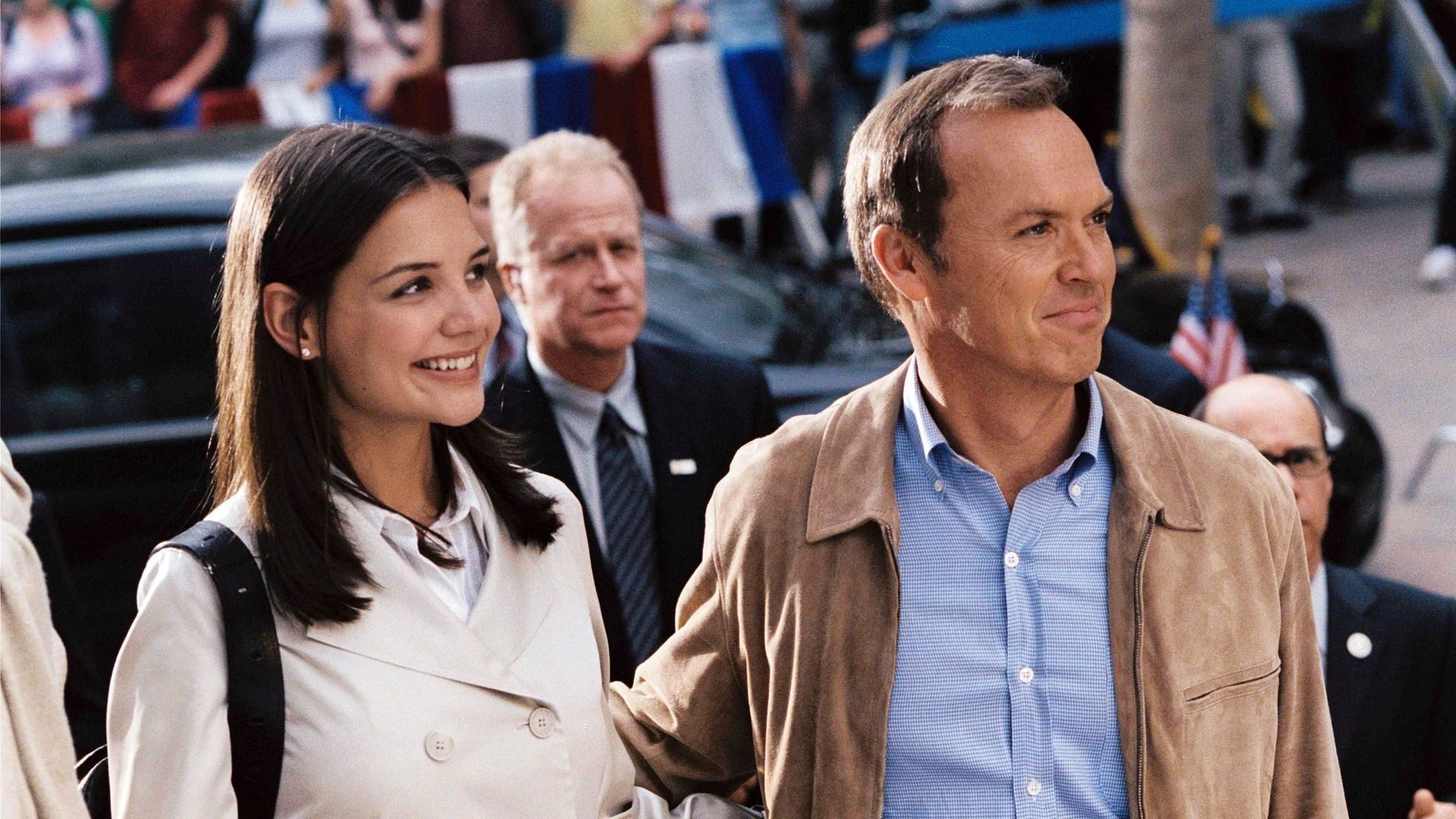 "Michael Keaton in ""First Daughter."""