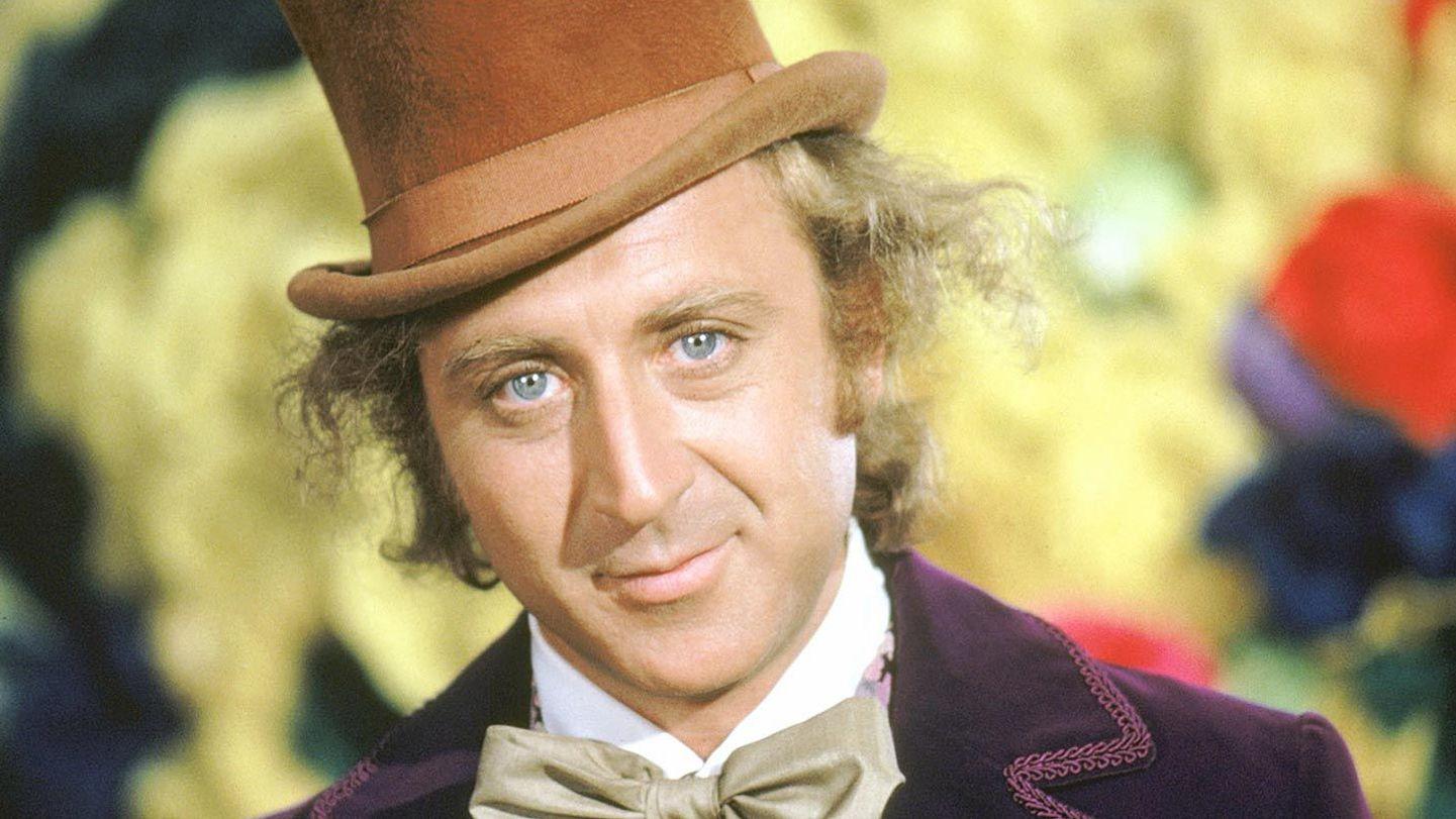 "Gene Wilder in ""Willy Wonka & the Chocolate Factory."""