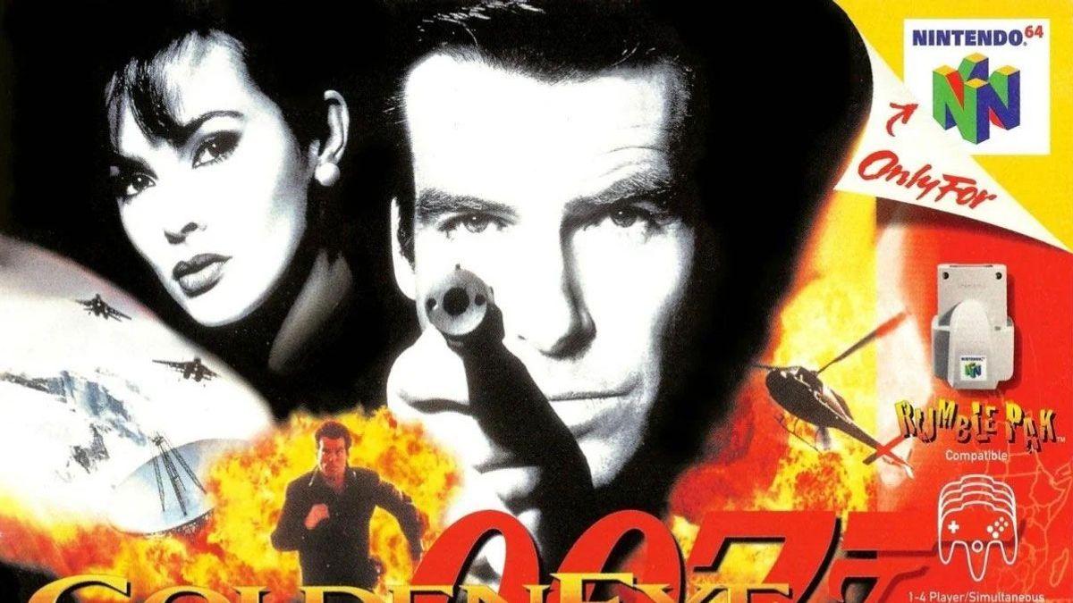 """Box art for """"GoldenEye 007"""""""