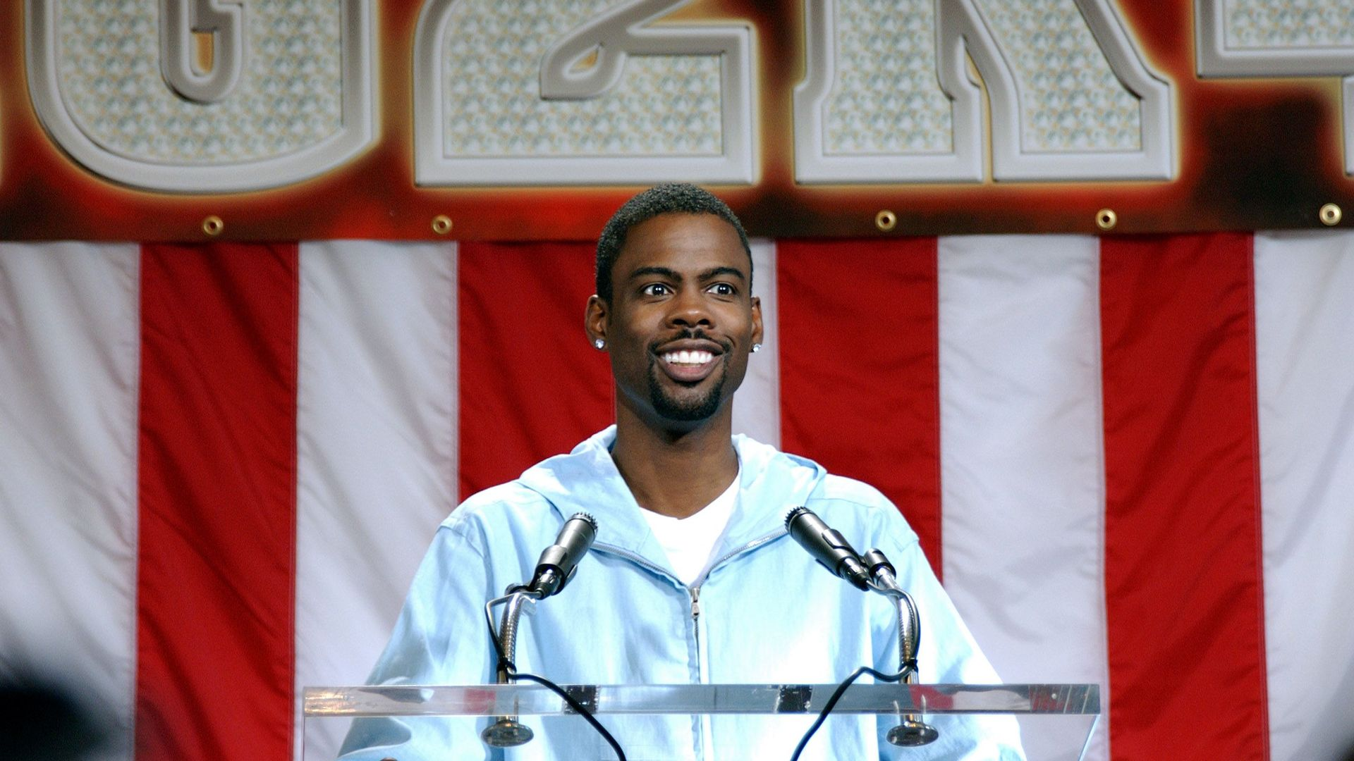 """Chris Rock in """"Head of State."""""""