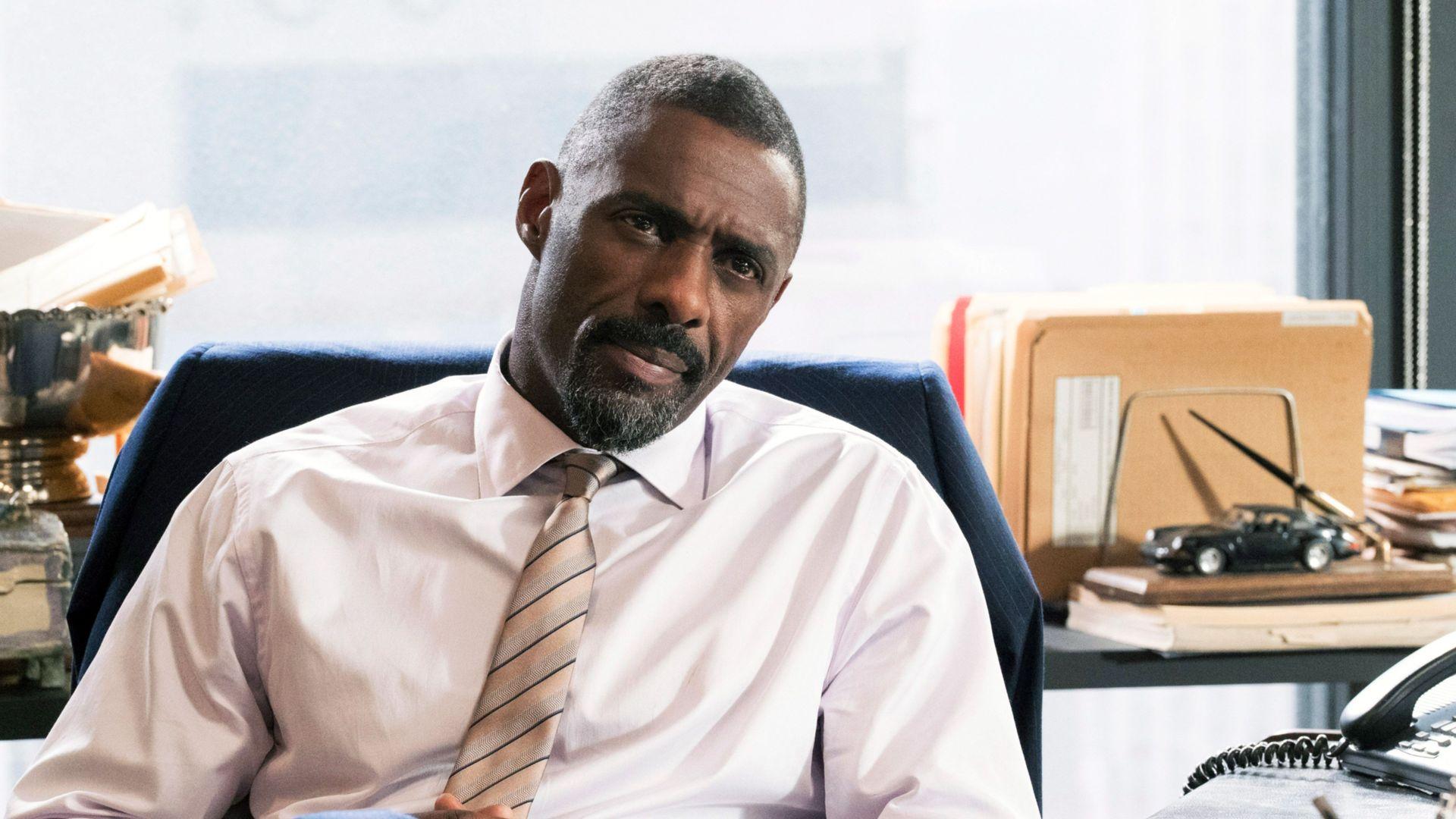 "Idris Elba in ""Molly's Game."""