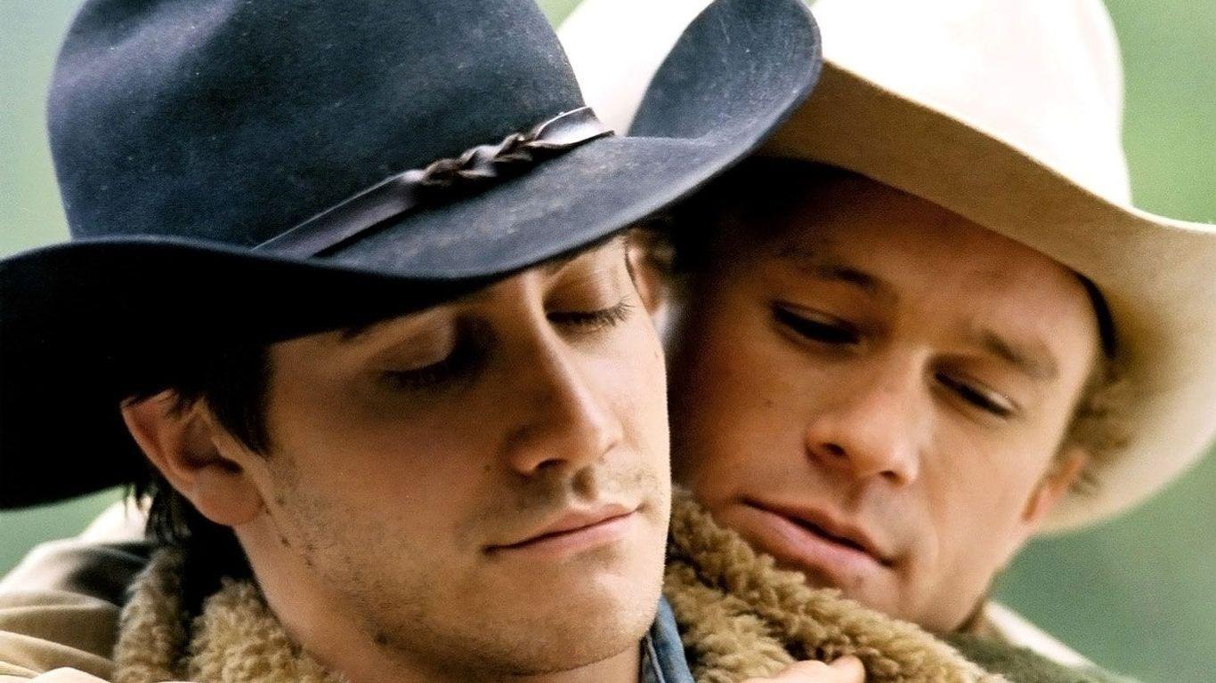 "Brokeback Mountain Pride Month - Jake Gyllenhaal, Heath Ledger in ""Brokeback Mountain."""