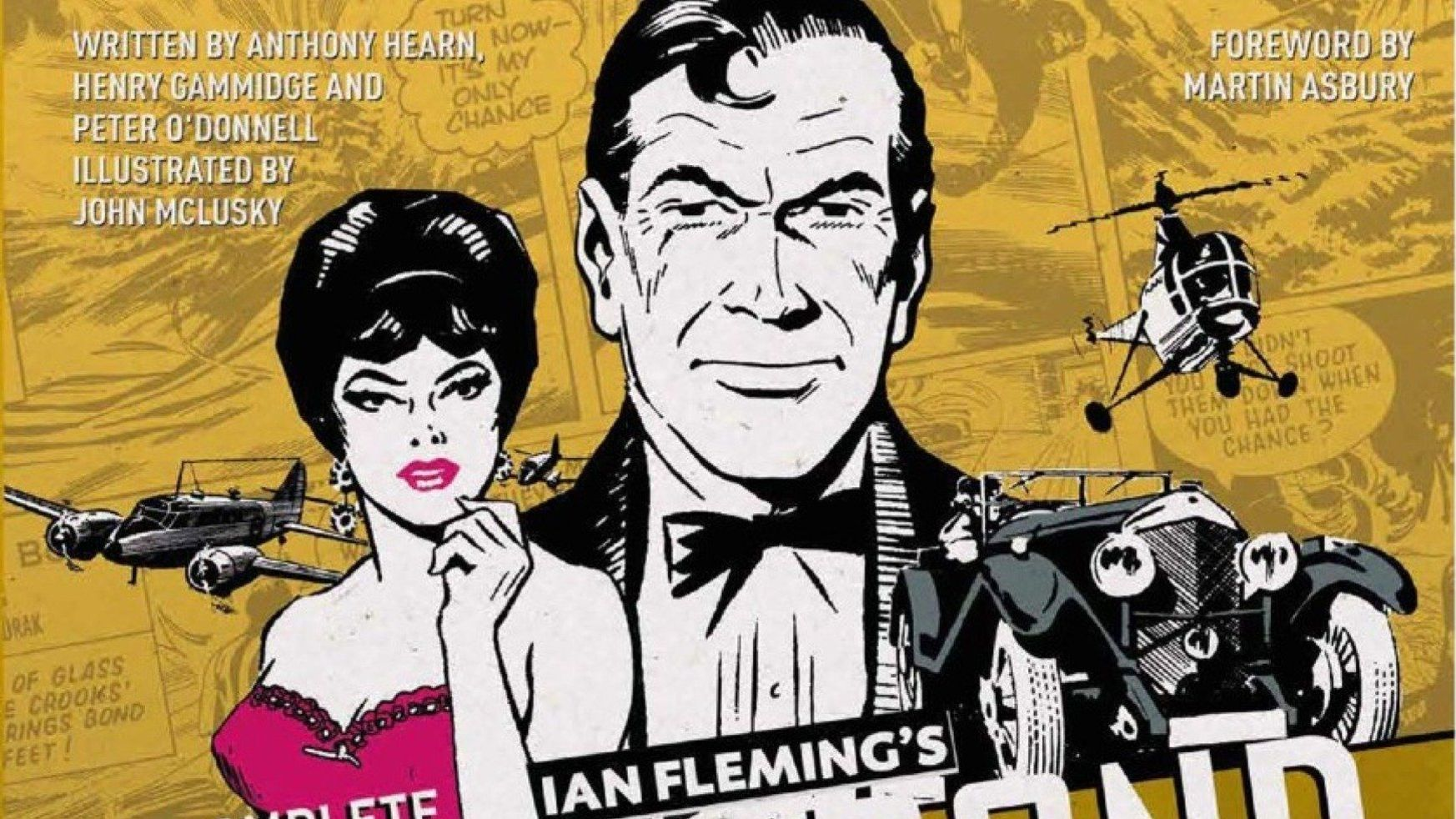 """Cover art for """"The Complete James Bond."""""""